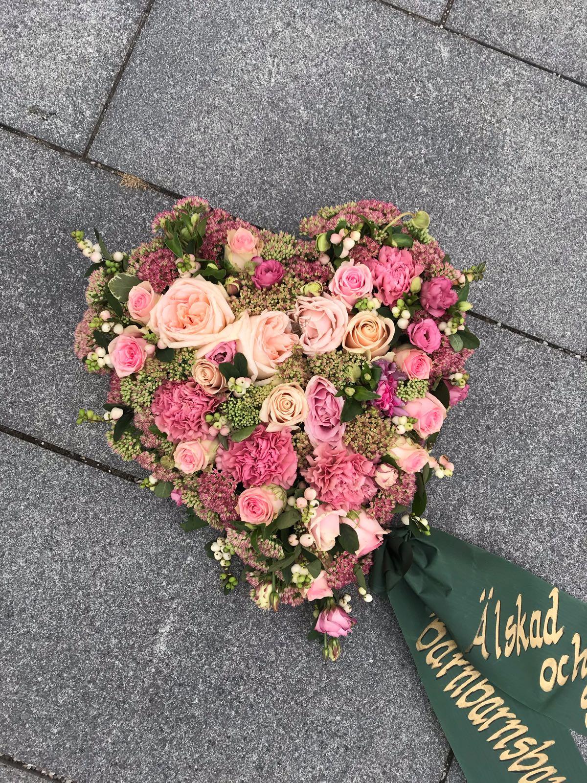Floristens val - Oasishjärta - 30cm