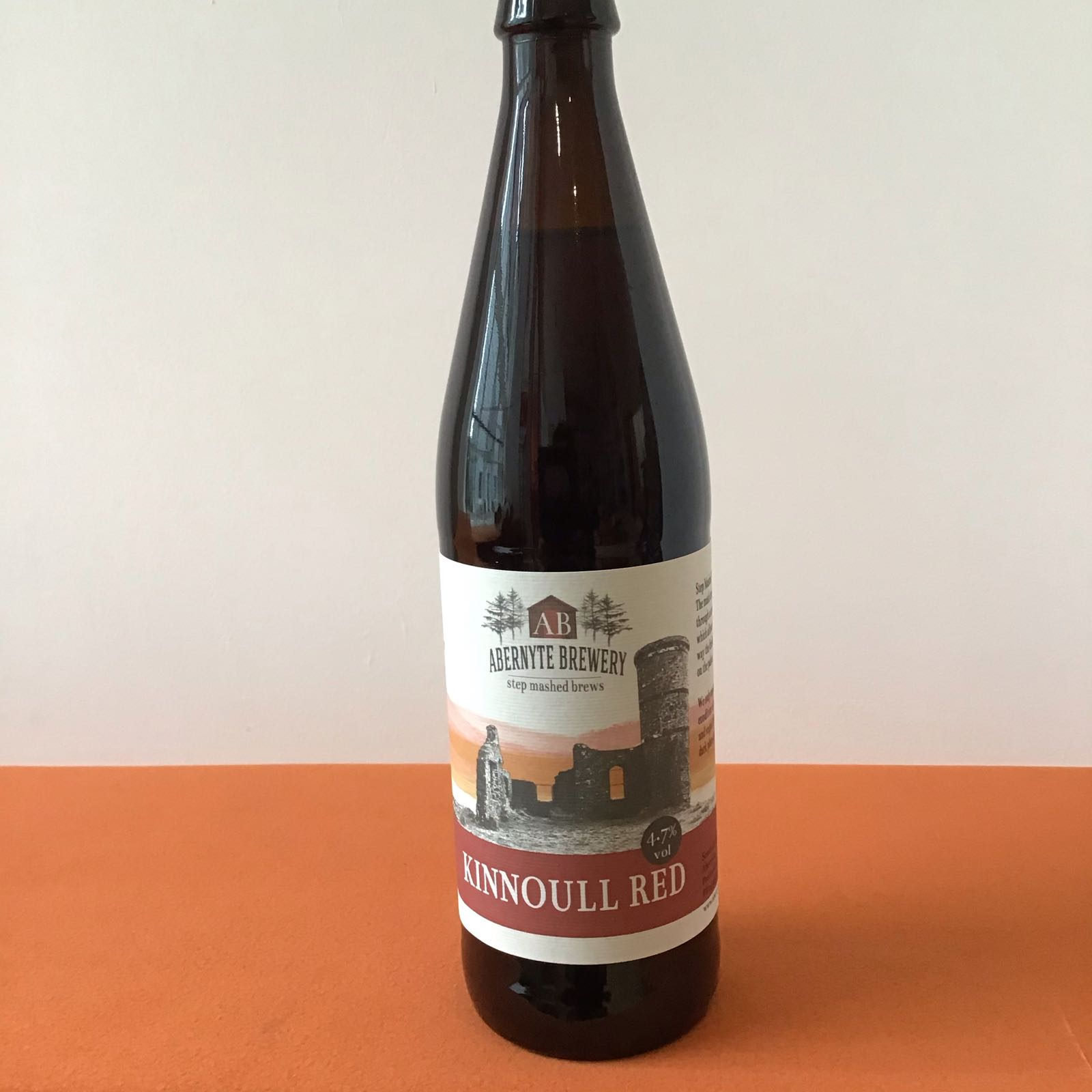 Abernyte Brewery: Kinnoull Red