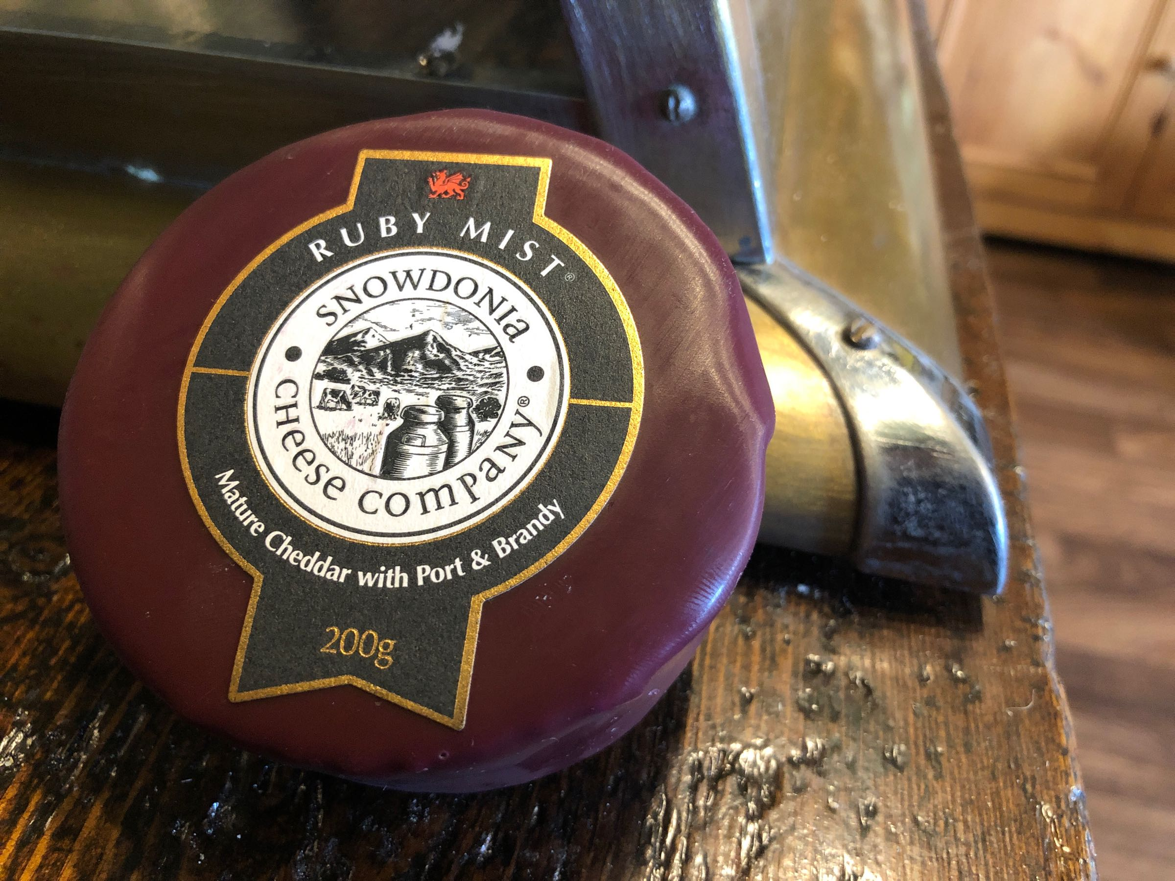 Snowdonia Cheese Co. Ruby Mist 200g