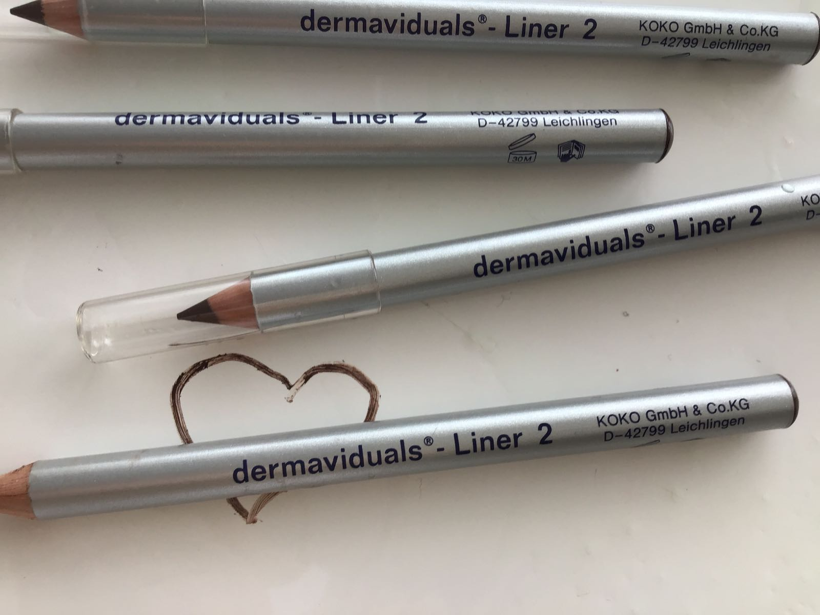 Dermaviduals Liner 2 dunkelbraun