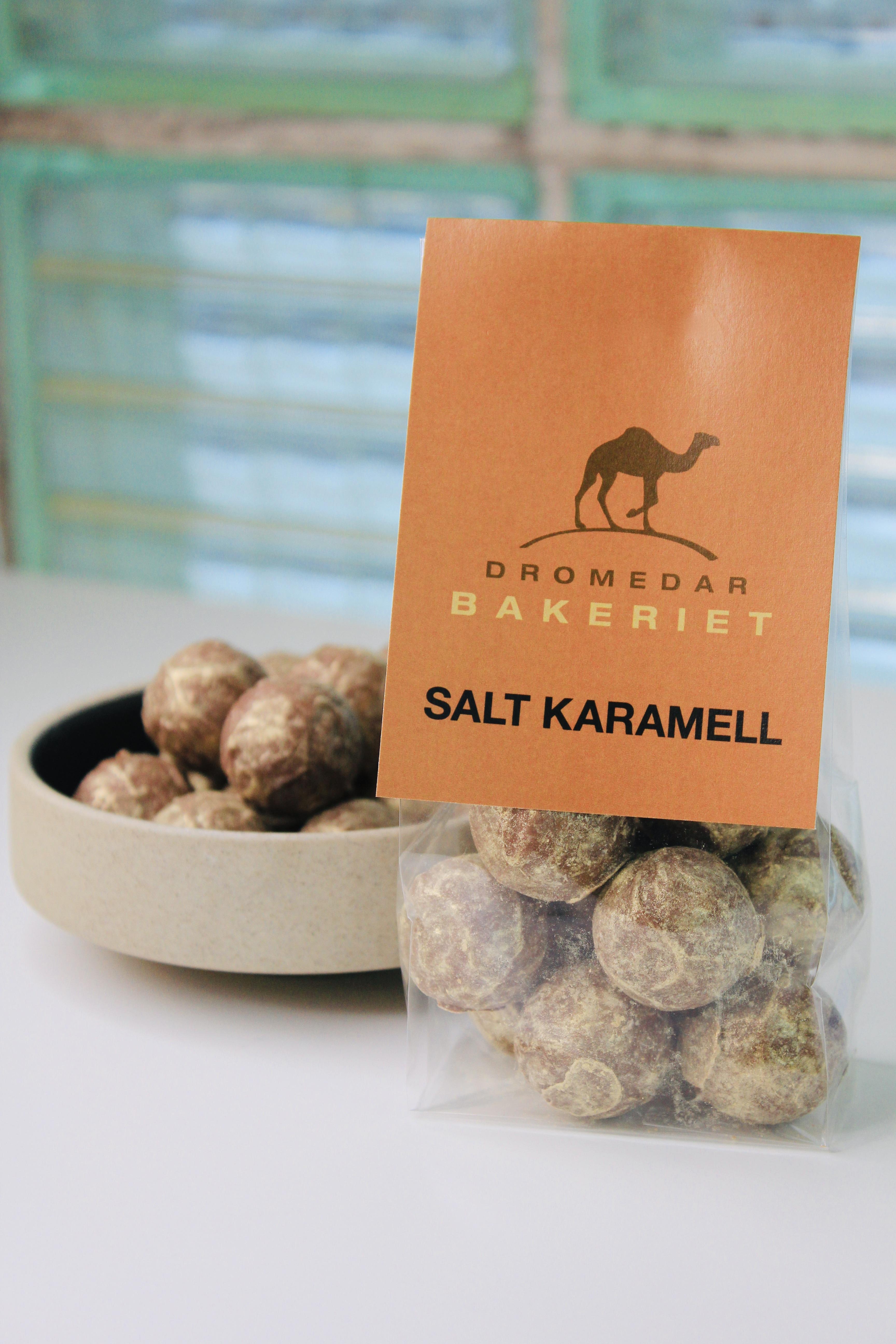Salt karamell konfekt