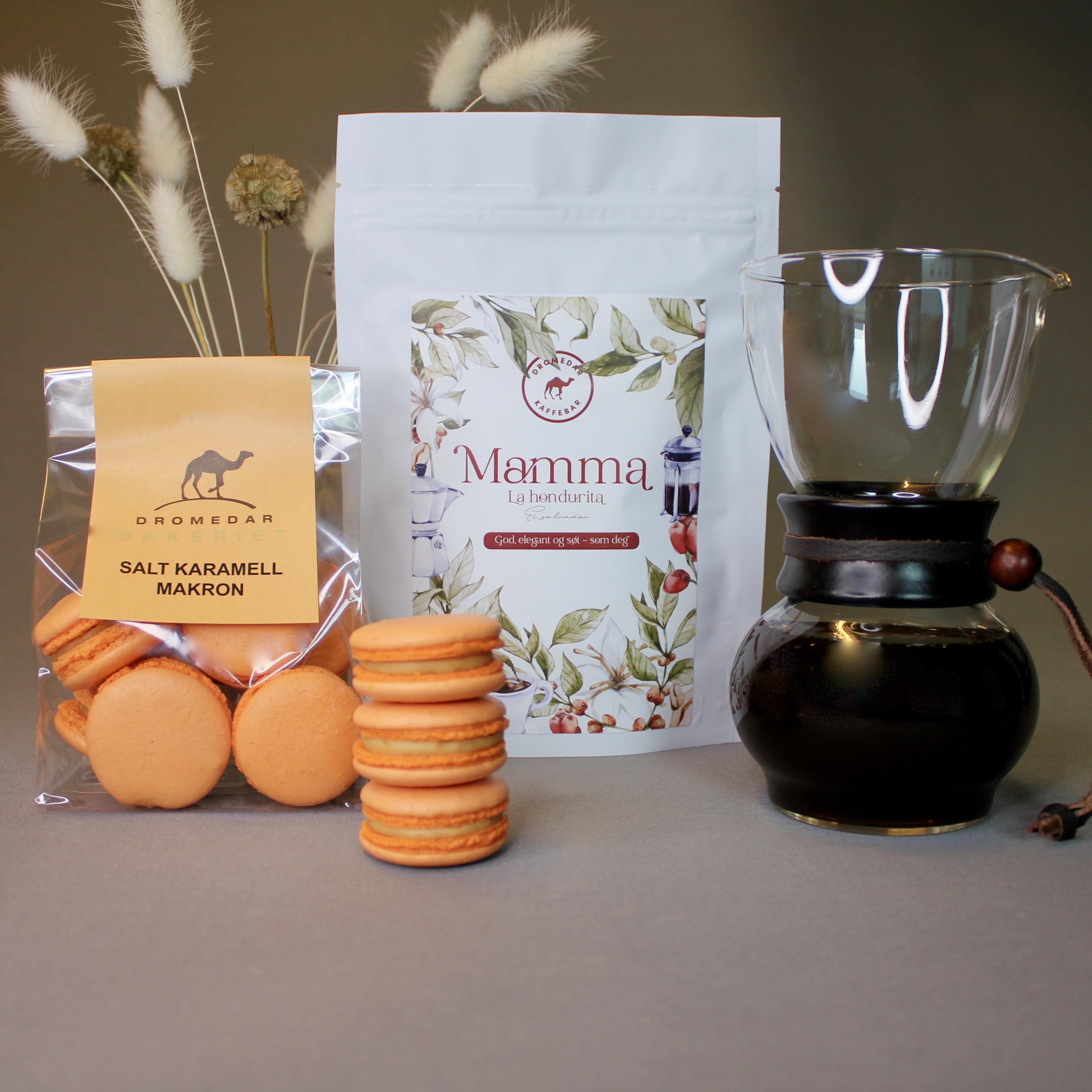 Kaffe og makroner til mamma