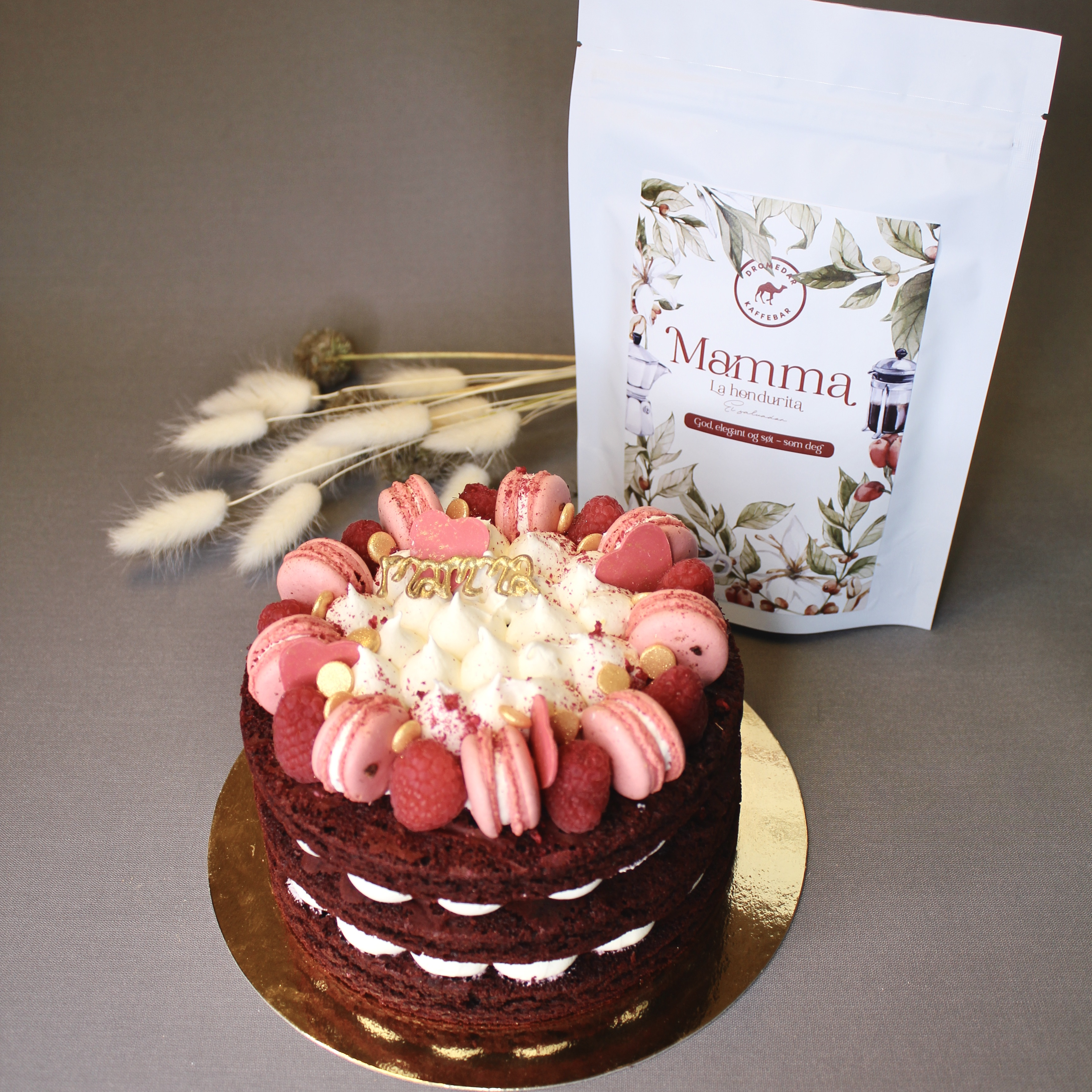 Mamma/Valentin kake