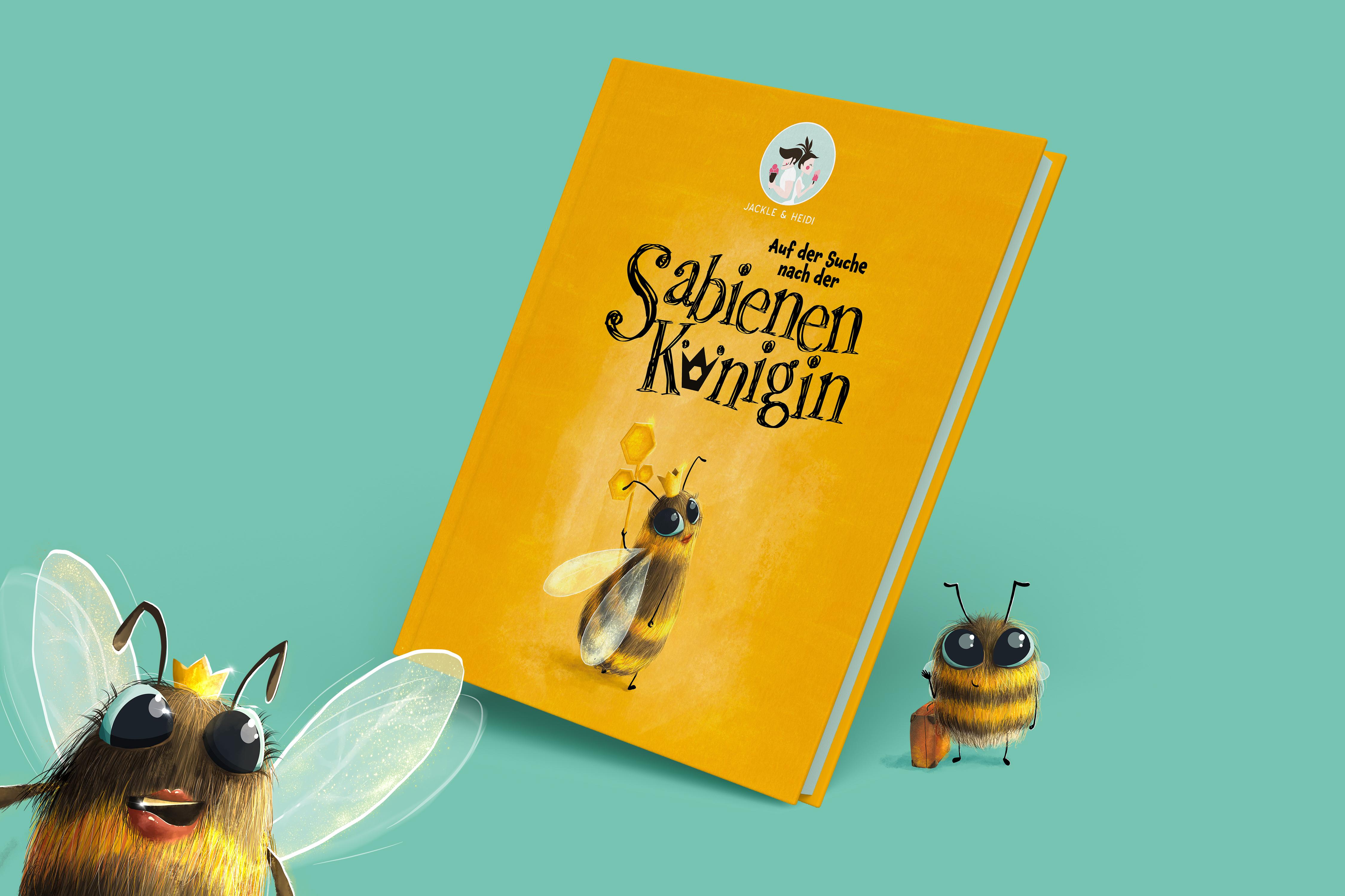 Kinderbuch - Auf der Suche nach der Sabienenkönigin