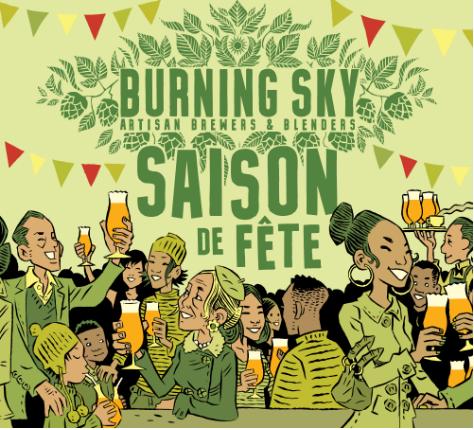Burning Sky Saison De Fete 2020
