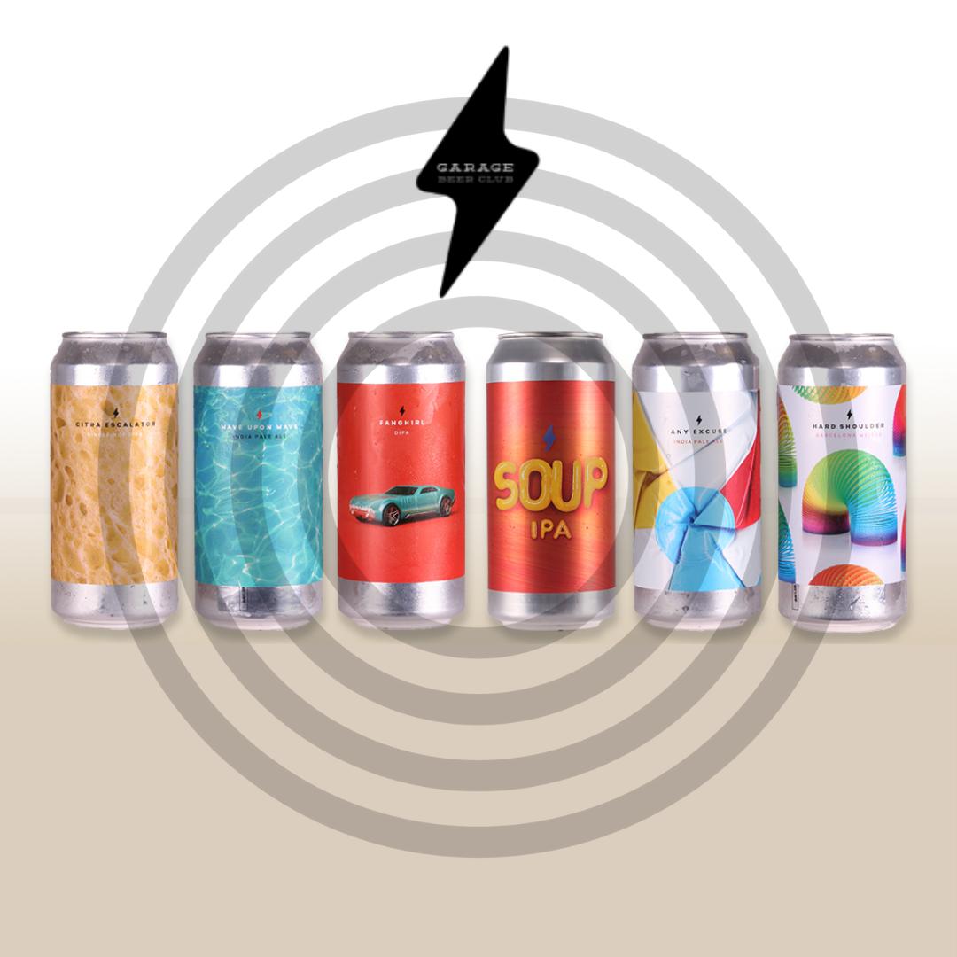 PRE ORDER - Garage Virtual Drink A Long Tasting Pack