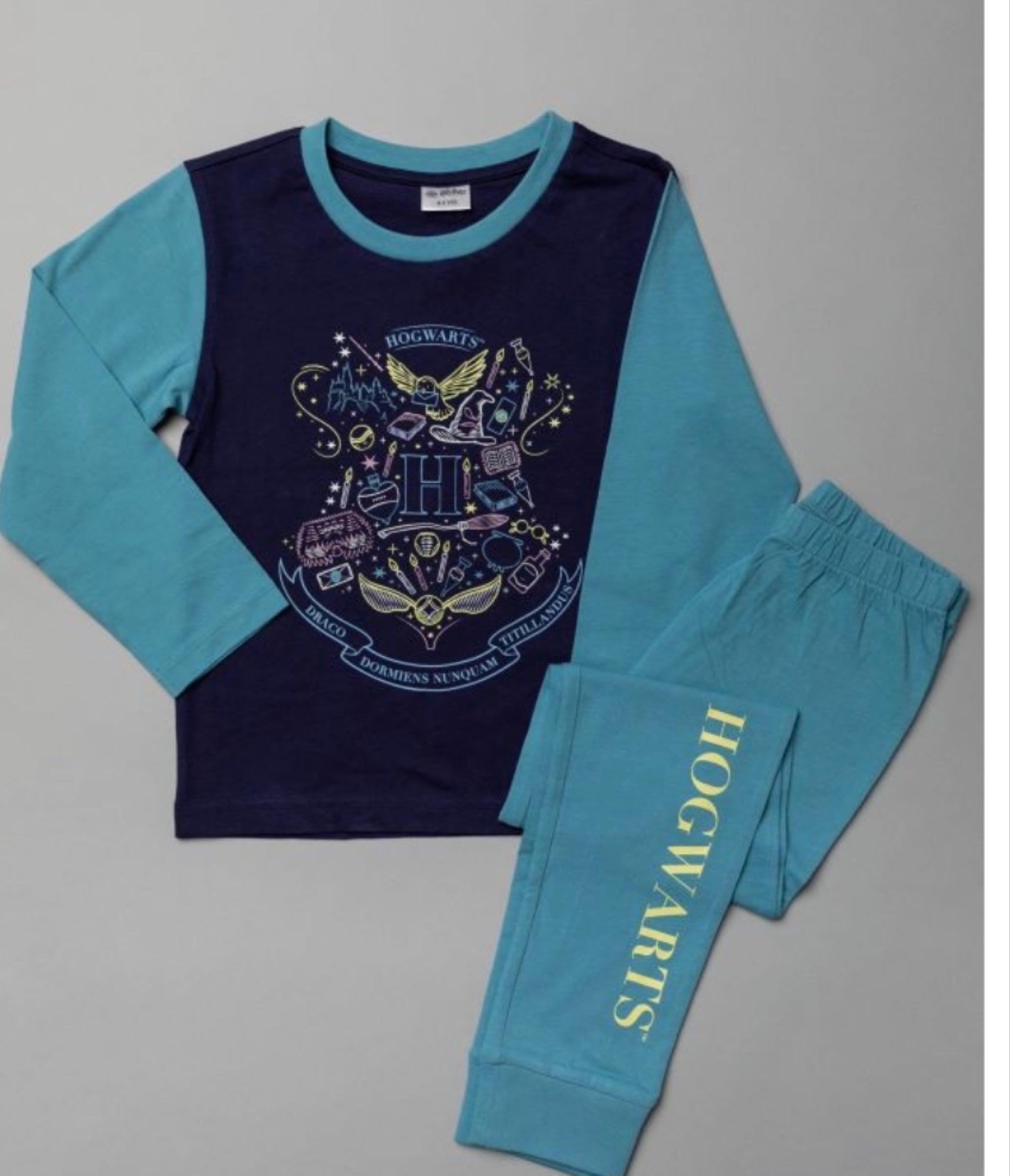 Official Harry Potter Pyjamas - Blue