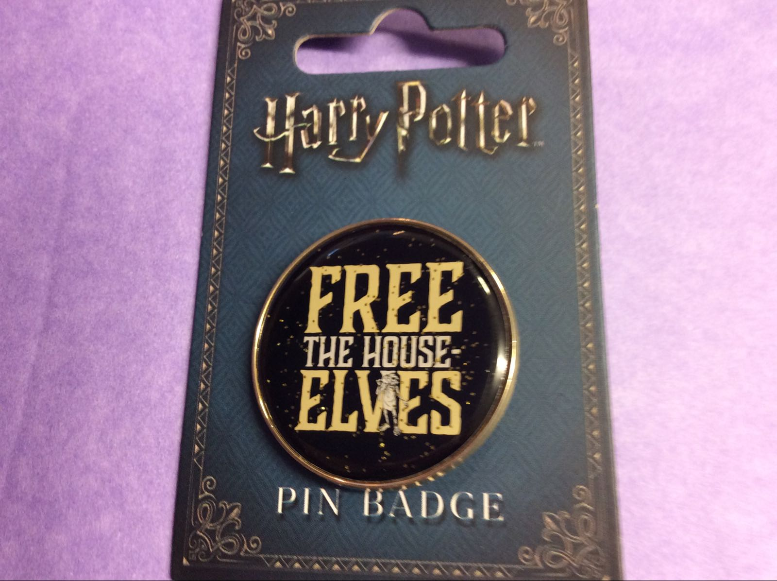 Harry Potter Free The House Elves Pin Badge REDUCED