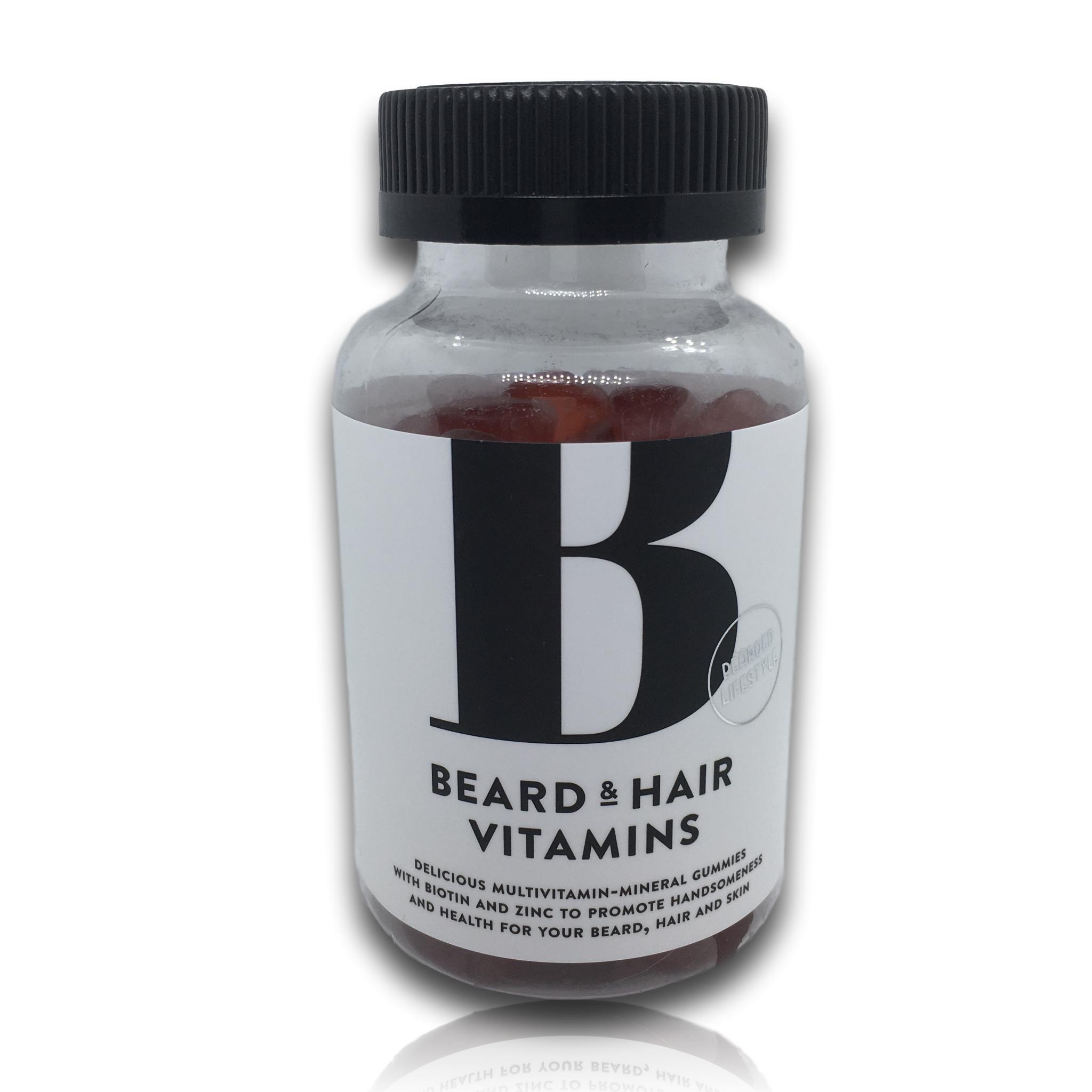 Bearded lifestyle, Parta- & hiusvitamiini 60kpl