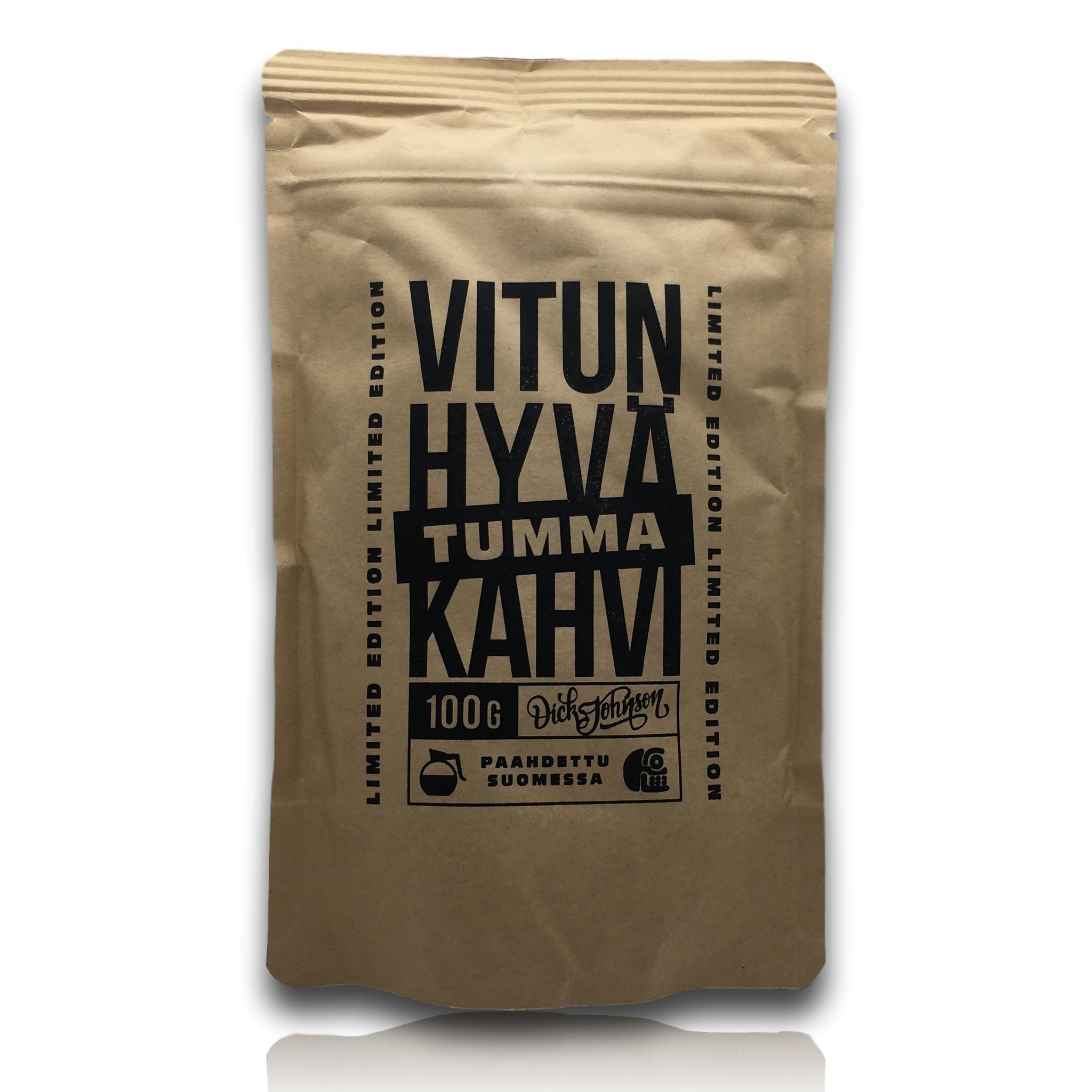 Vitun hyvä tumma kahvi