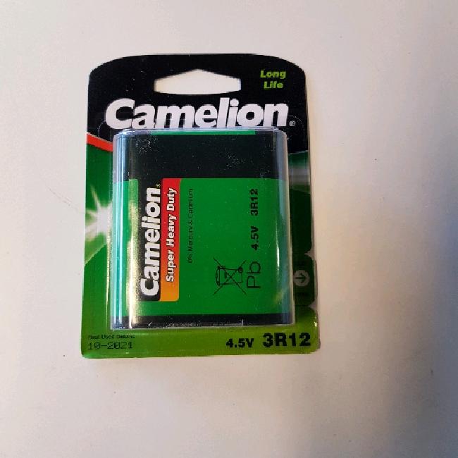 Camelion 4,5 v batteri
