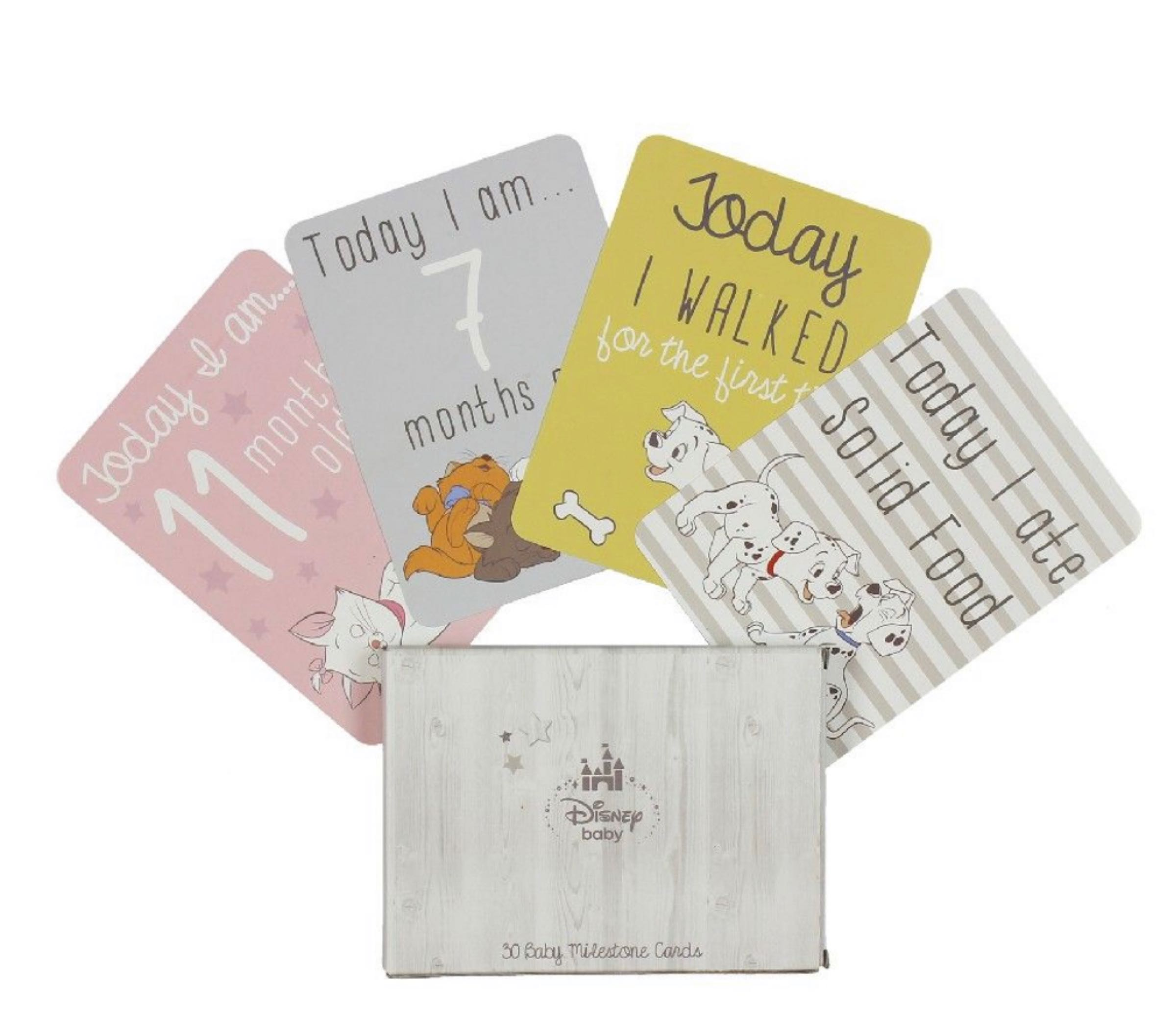 Disney Magical Beginnings Baby 30 Milestone Cards