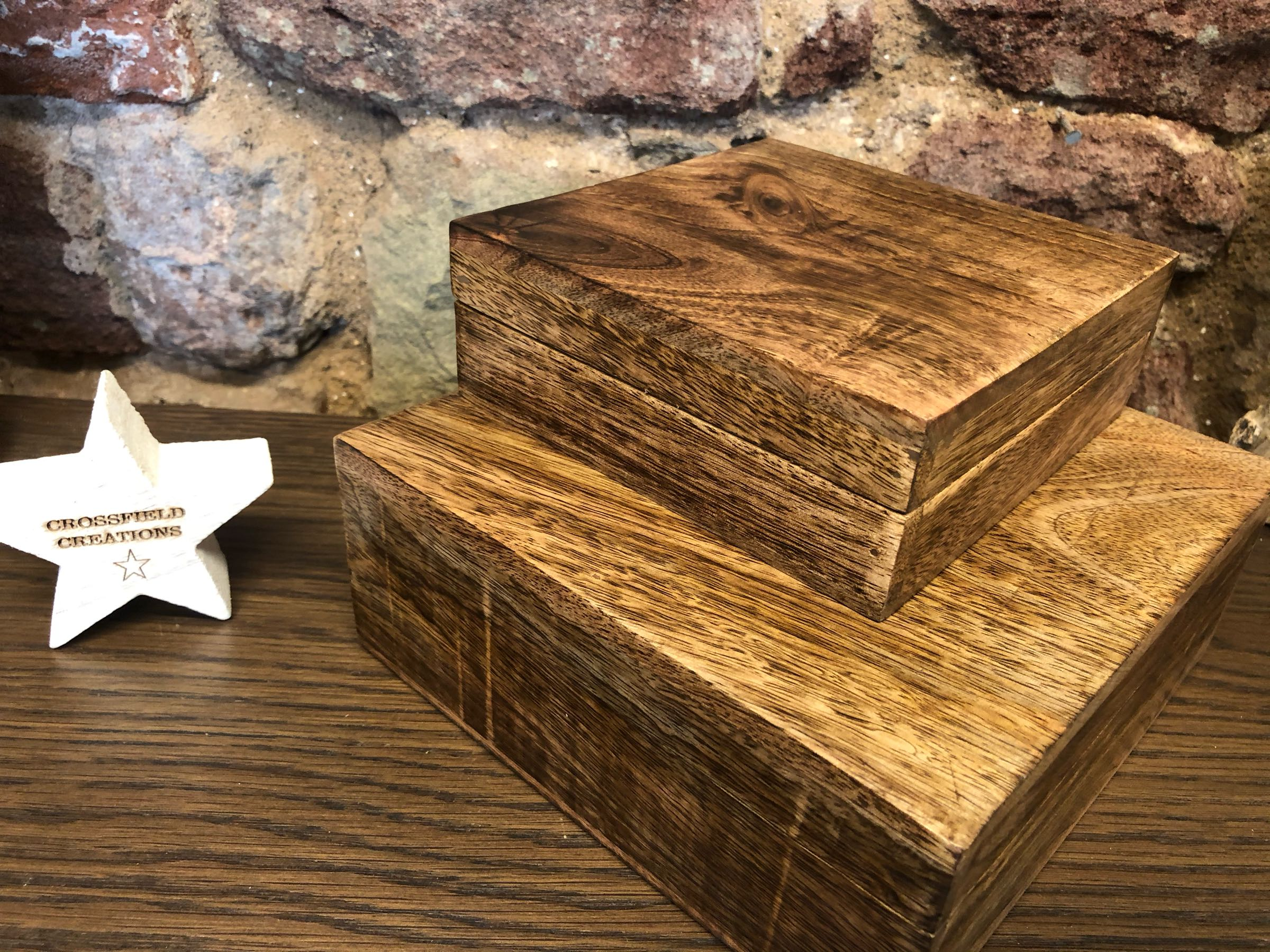 Maple Flat Boxes