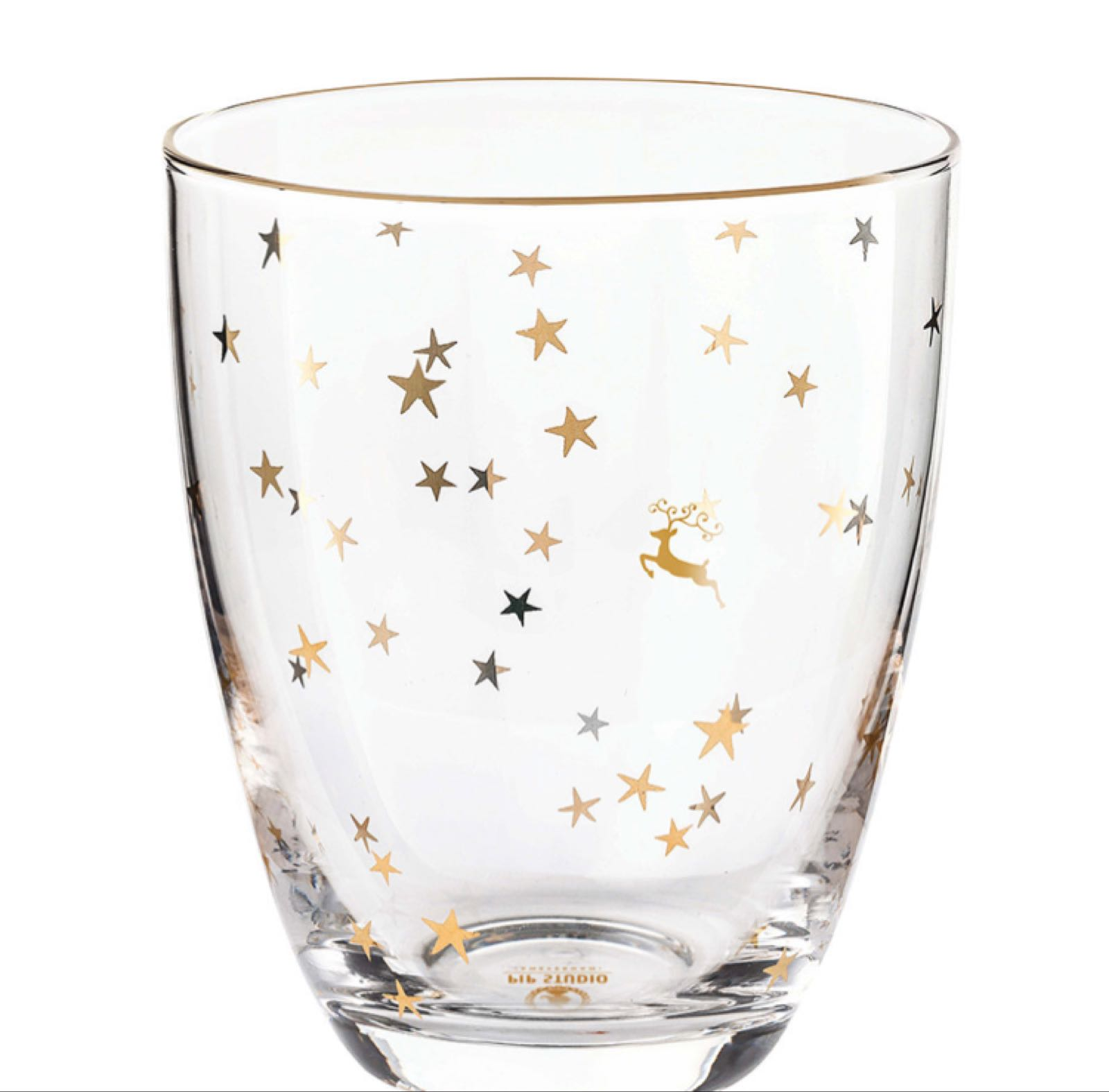 Pip studio Christmas water glass