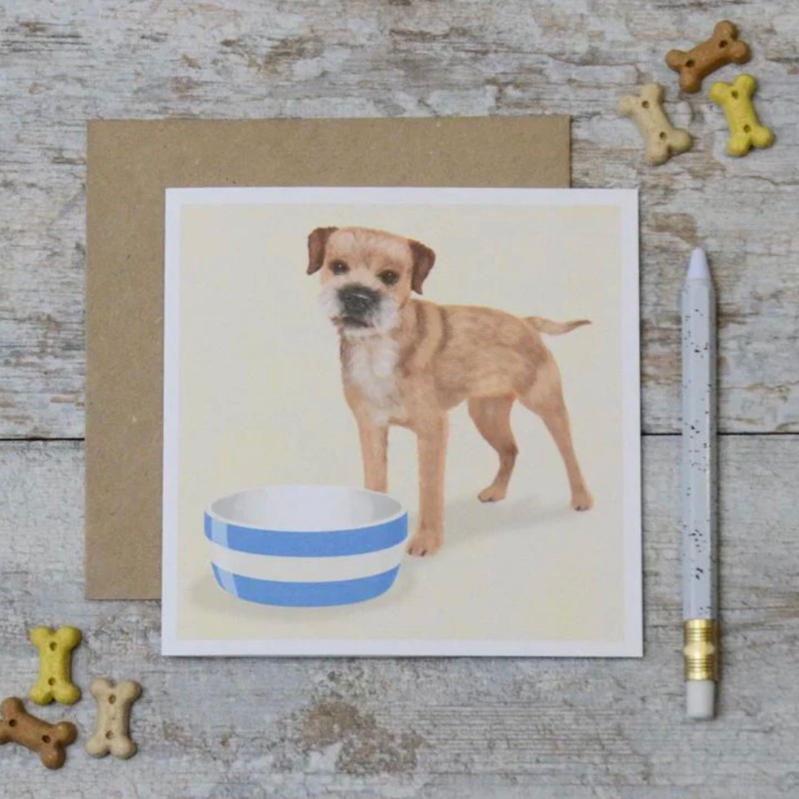 'Border Terrier' Corniche Card