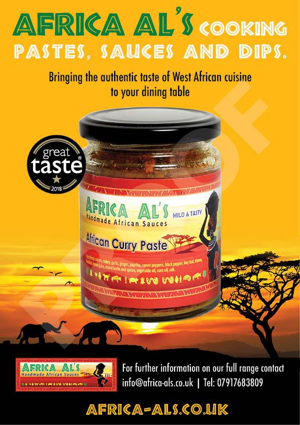 Africa Al's Handmade African Sauces