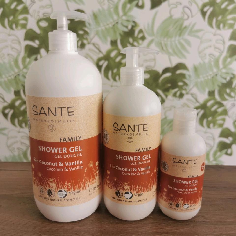 Sante Family Showergel Kokos & Vanilj