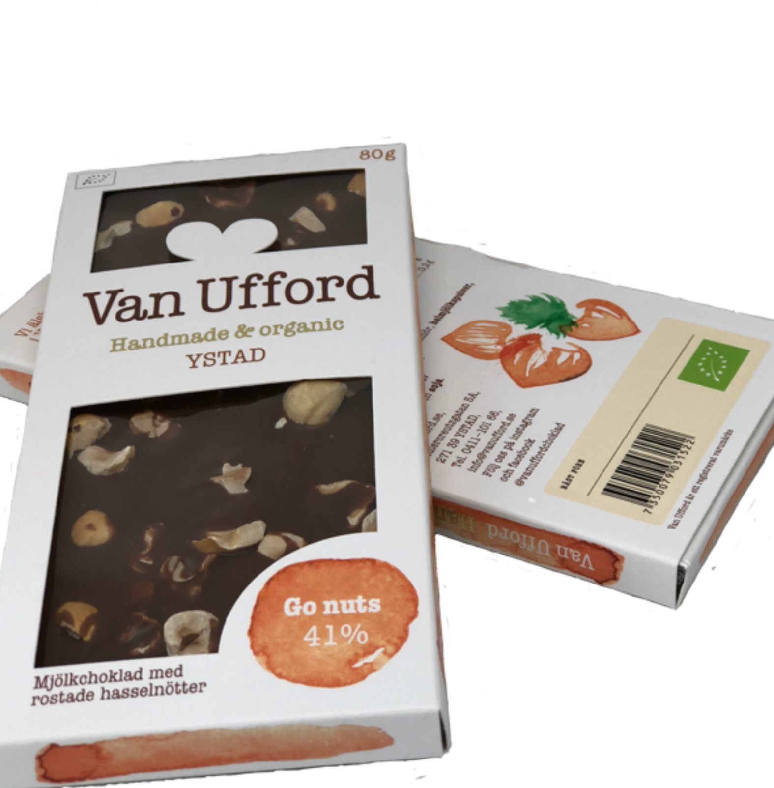 Ekologisk Choklad GO NUTS