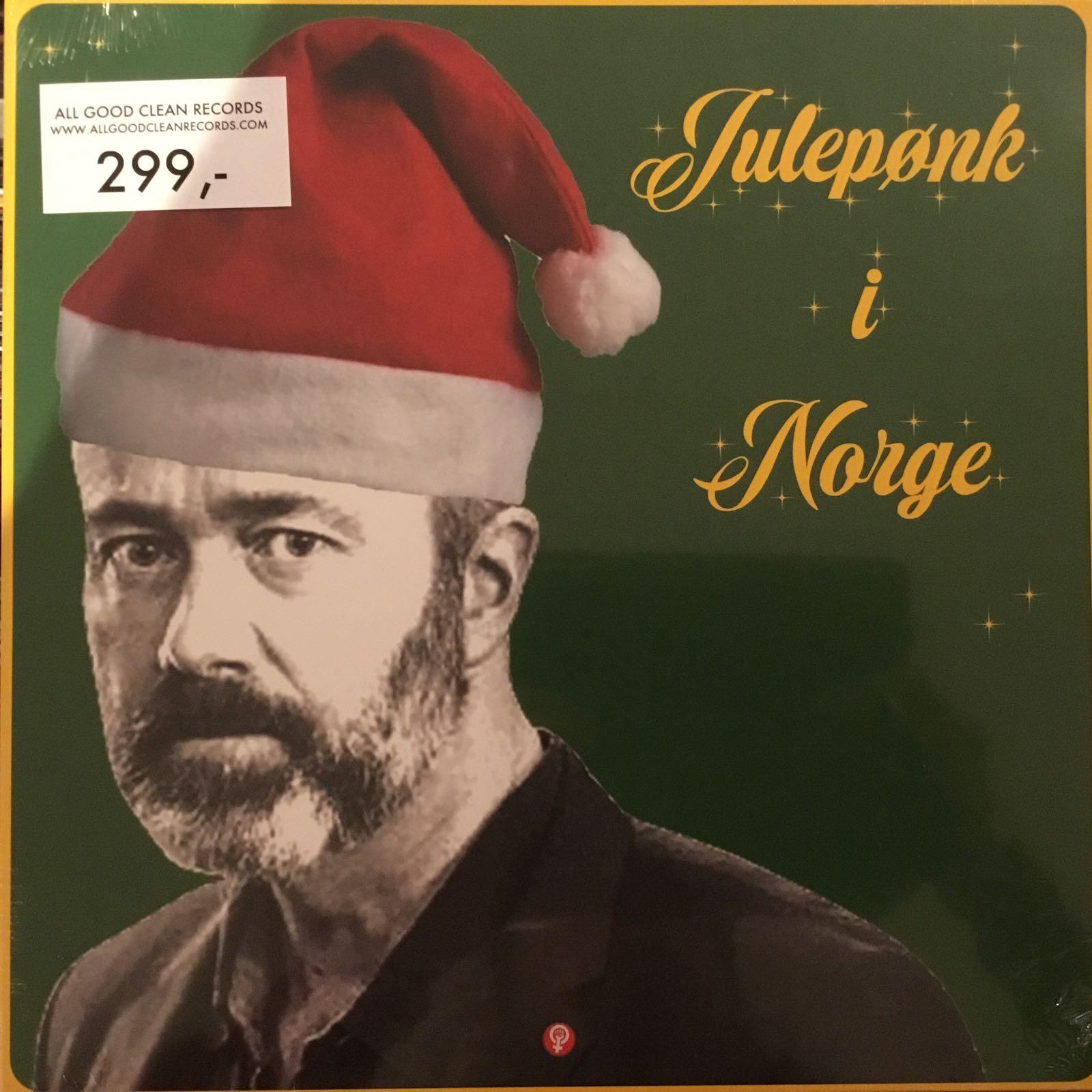 Diverse artister - Julepønk i Norge [LP]