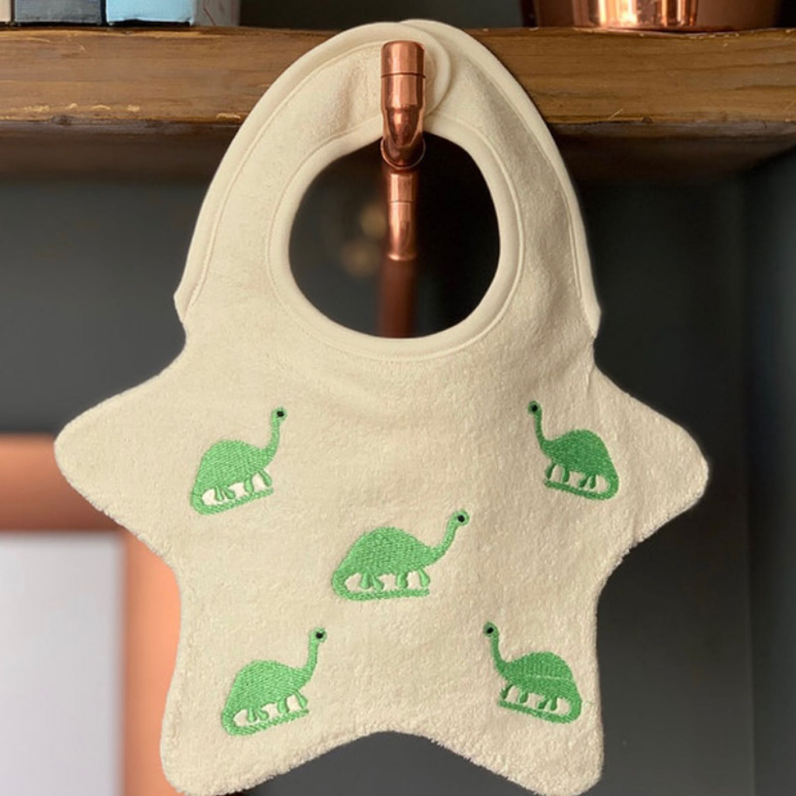 DRIBBLE DAYS BIB - DINOSAUR ONE