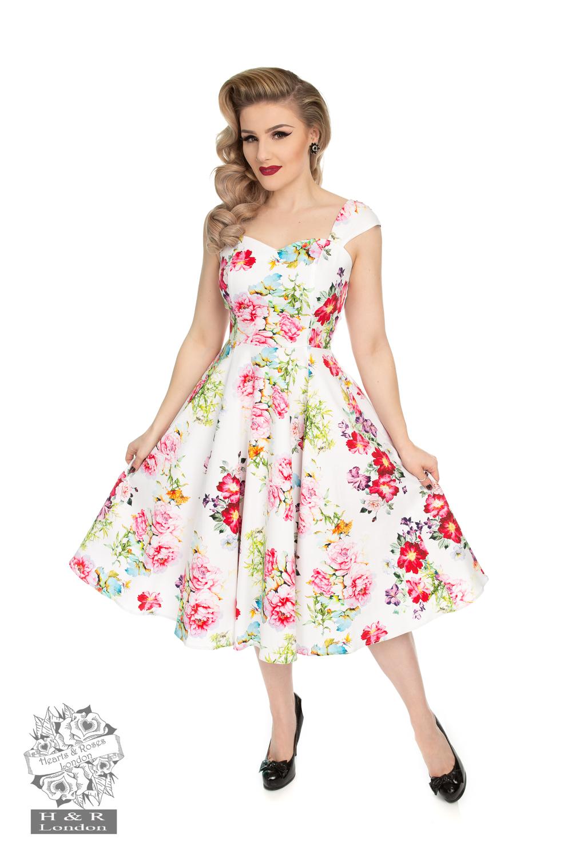 Rose Paradise Swing Dress Vuxen