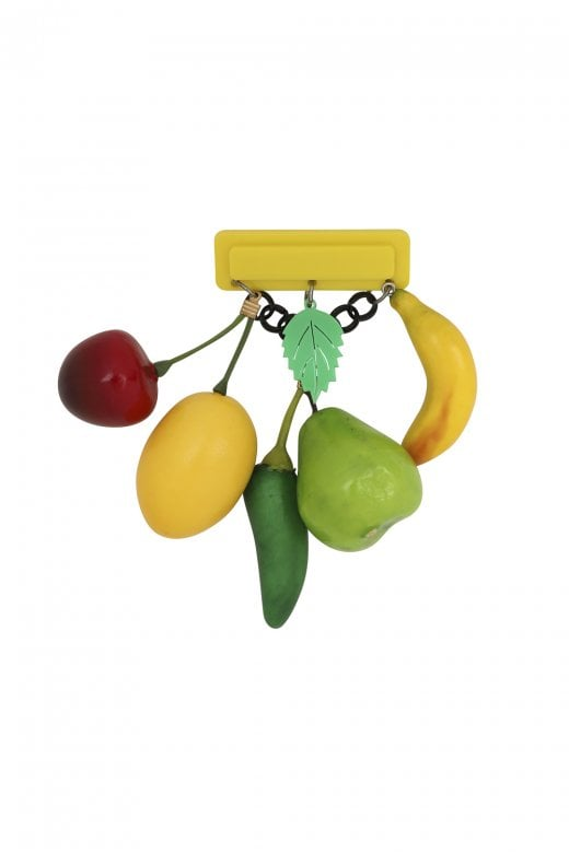 FRUITALICIOUS 40S BROOCH