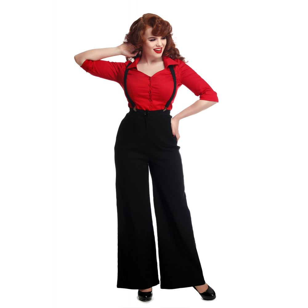 GLINDA PLAIN TROUSERS