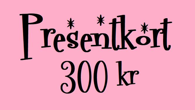 PRESENTKORT 300