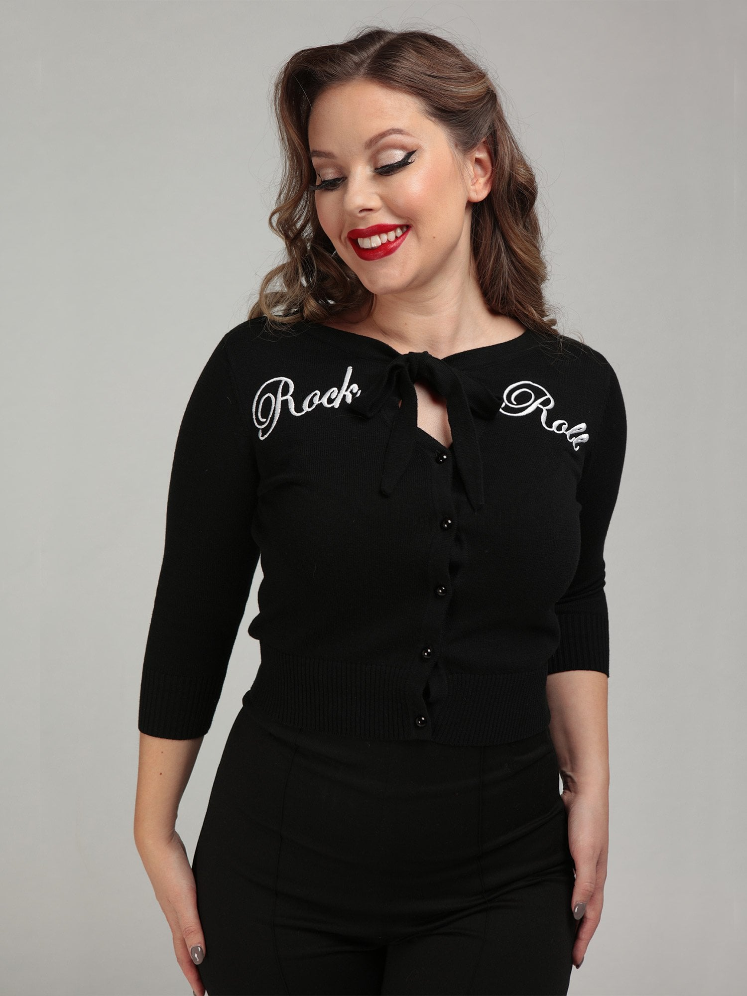 CHARLENE ROCK ROLL CARDIGAN