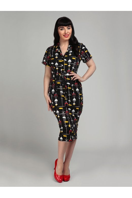 CATERINA 50S ATOMIC PENCIL DRESS