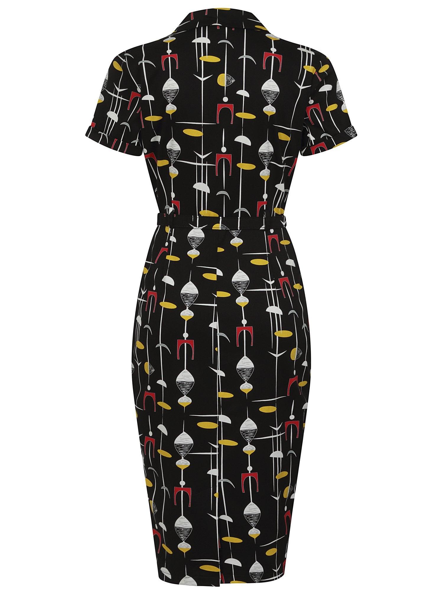 CATERINA 50S ATOMIC PENCIL DRESS
