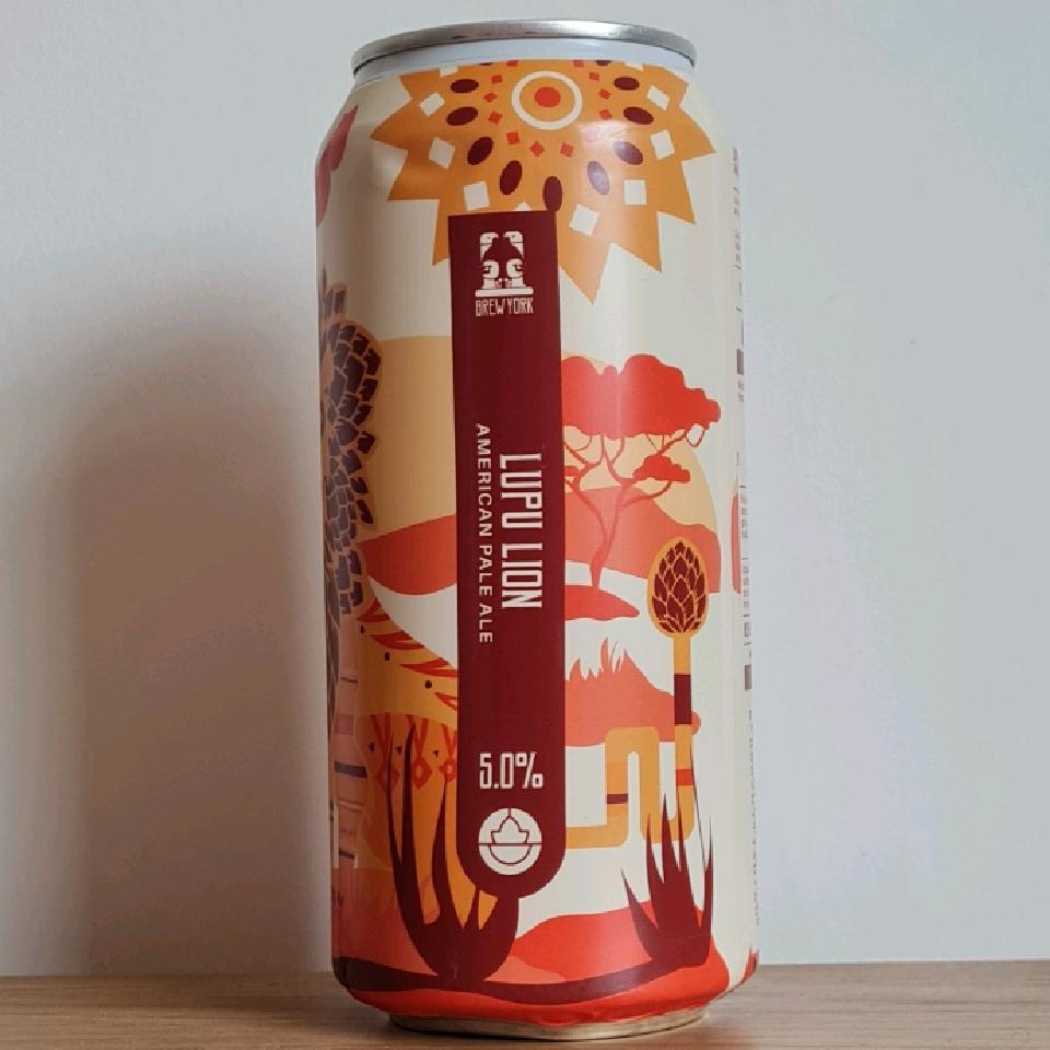 Brew York Lupu Lion (Gluten Free)