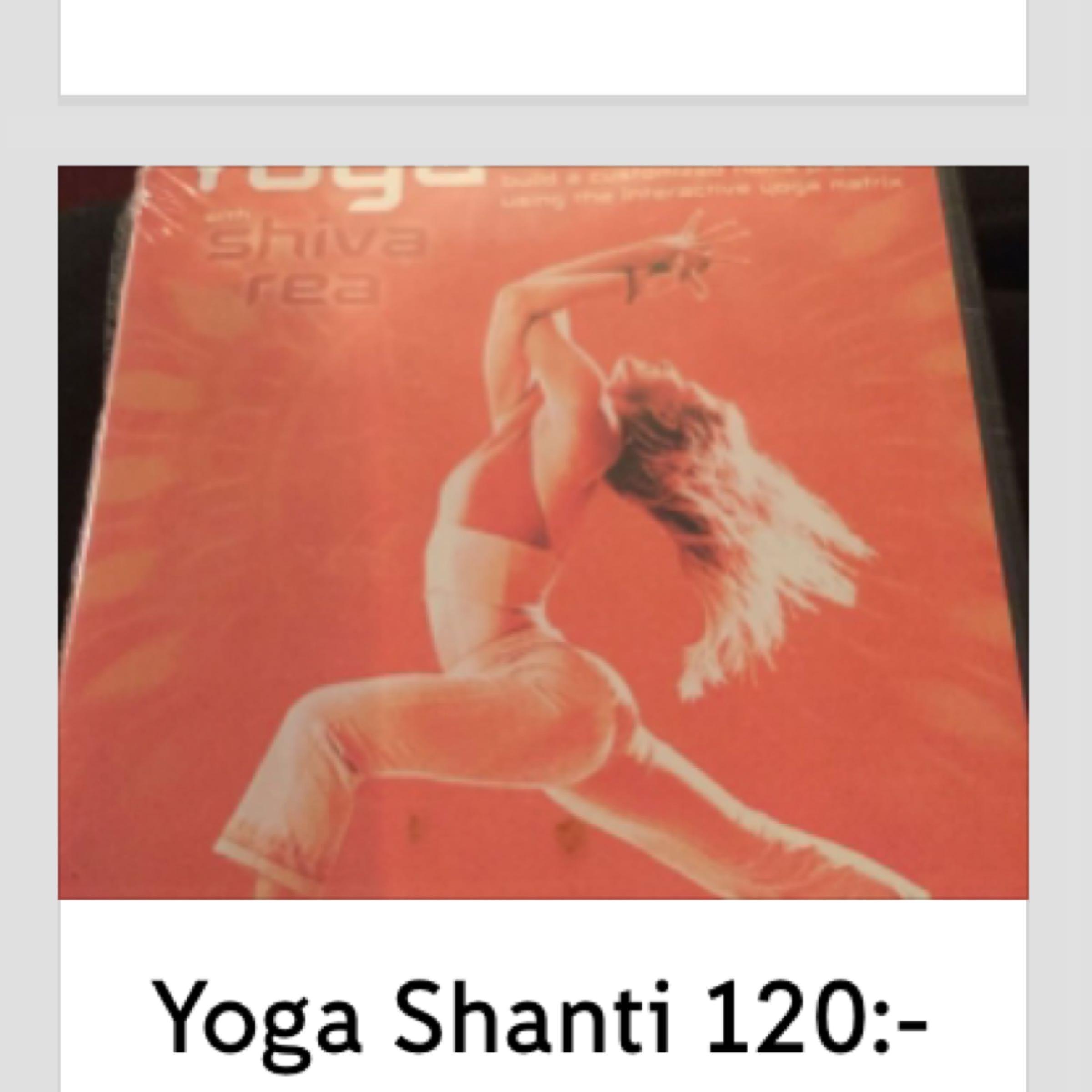 Dvd Yoga Shakti 120:-