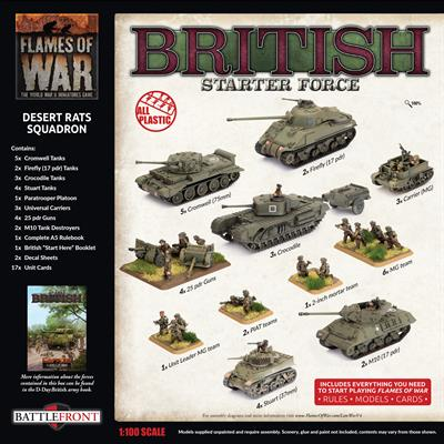 BRITISH: Starter Force