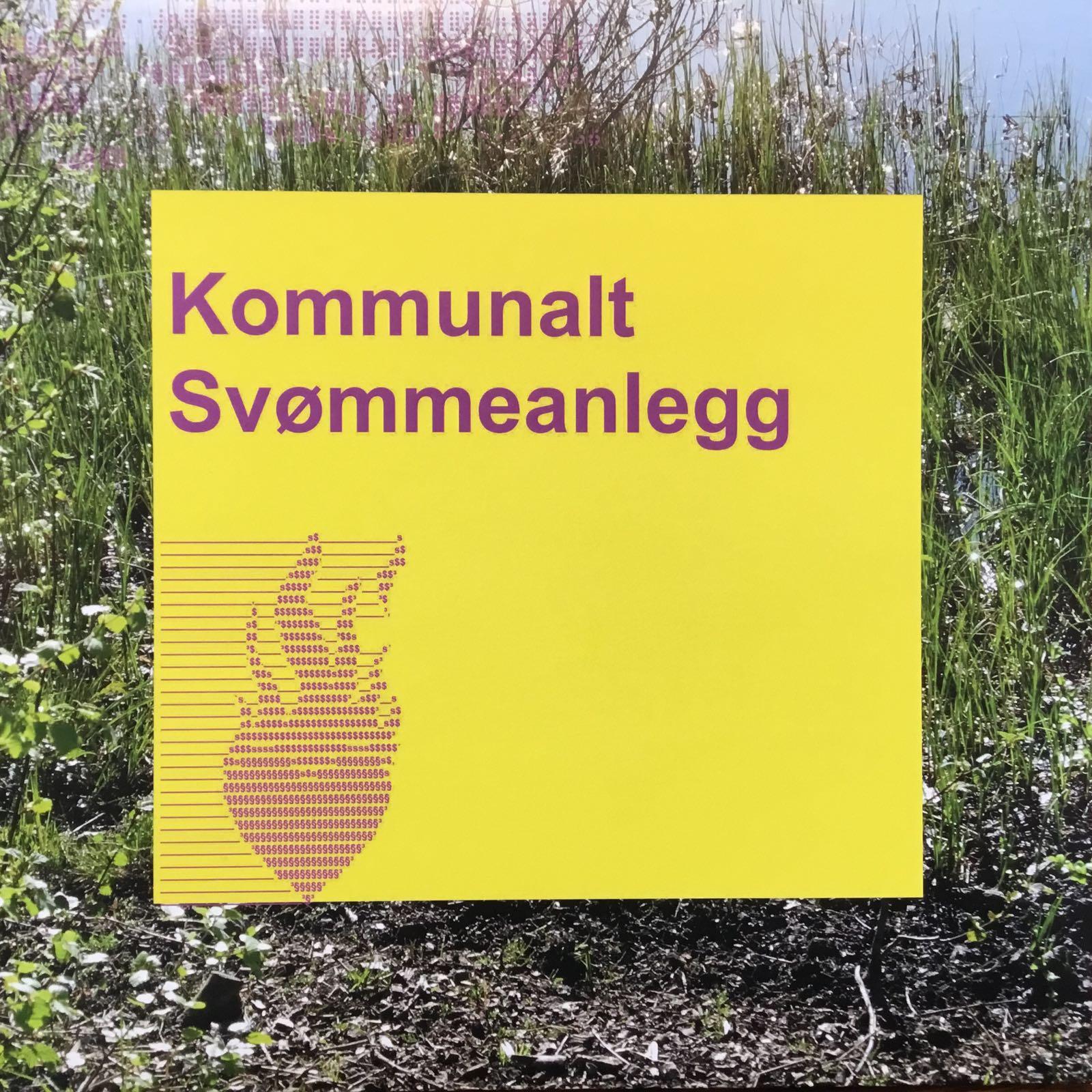 Kommunalt Svømmeanlegg - Hjernen Ser Ut Som En Tyggis [LP]