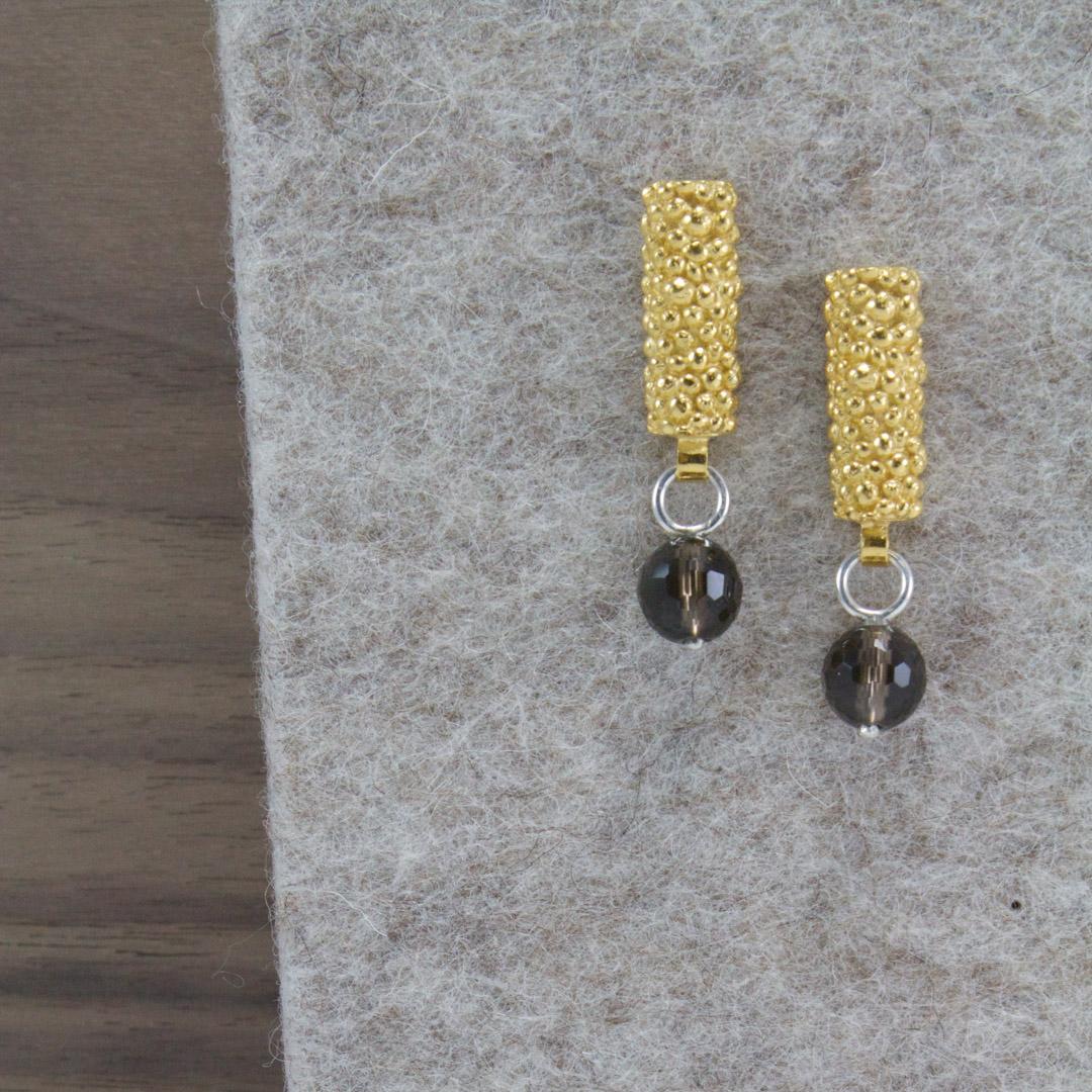 Bobbled Earrings