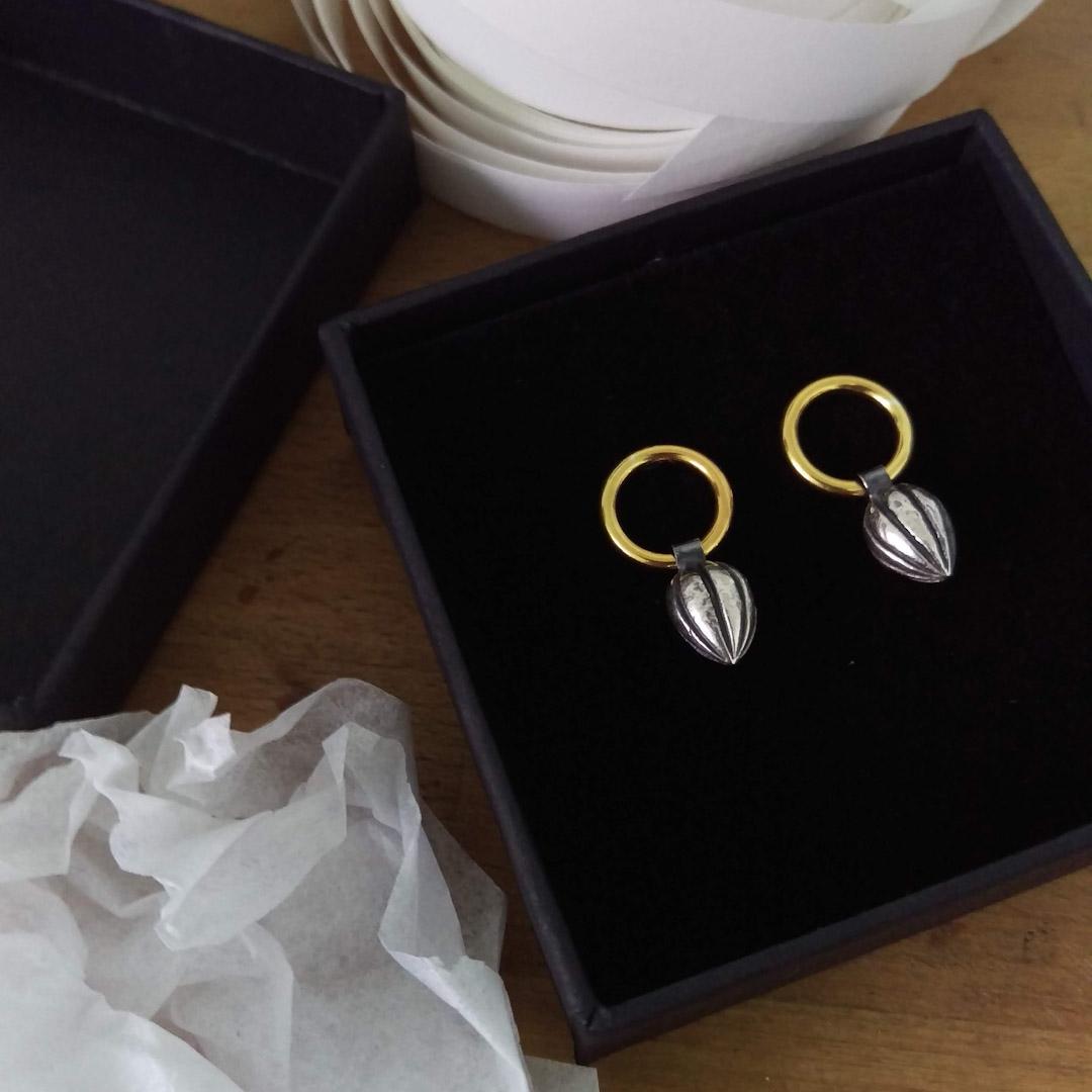 Pod Circle Earrings