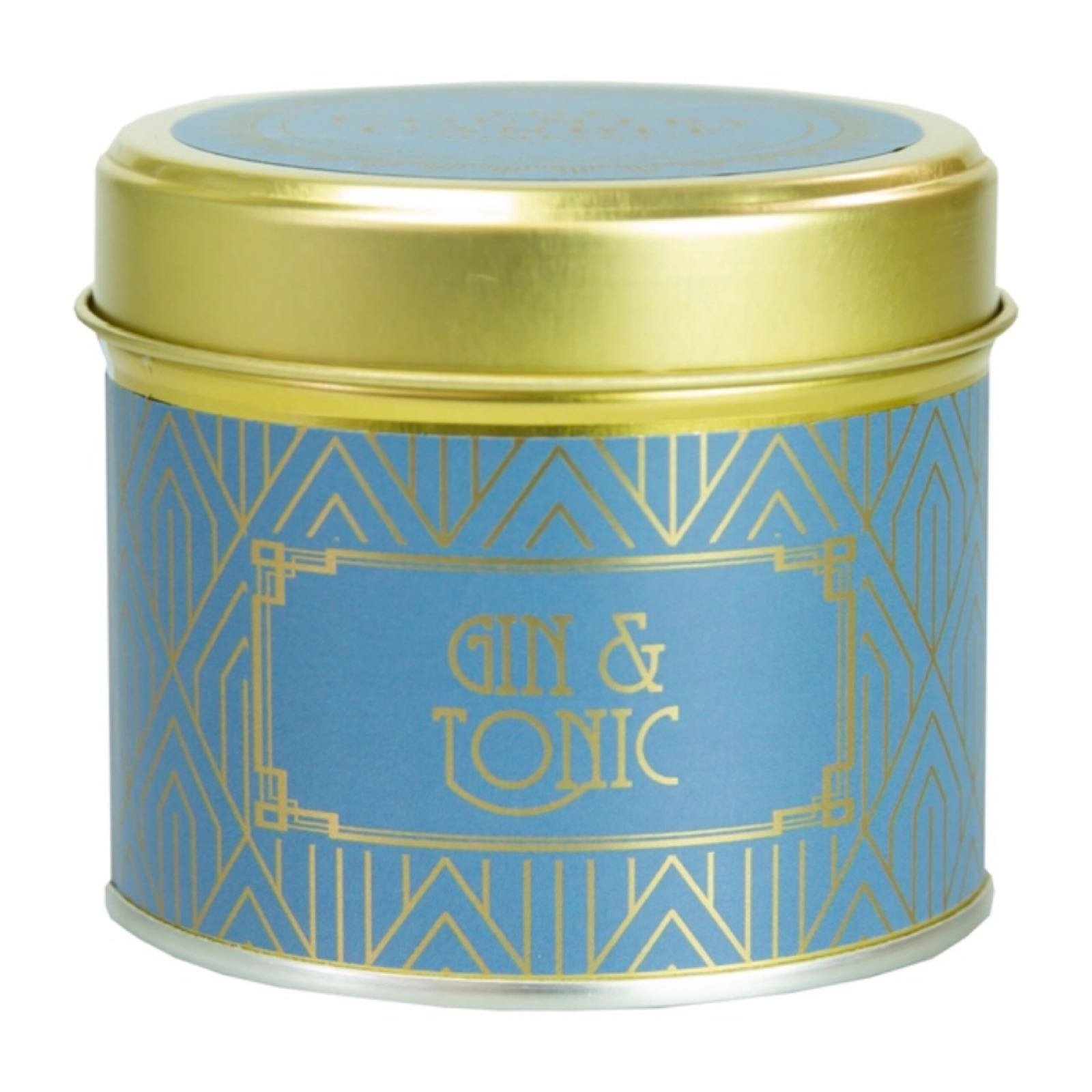 'Gin & Tonic' Happy Hour Candle in a Tin