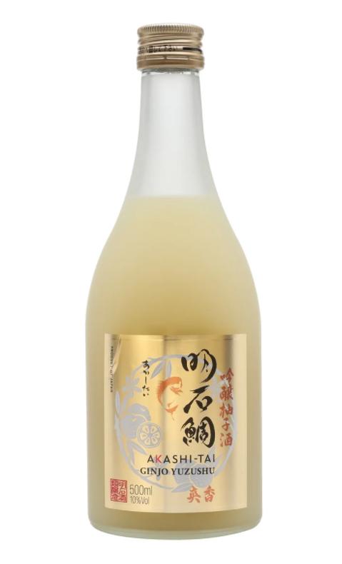 Akashi Tai Yuzushu Bottle