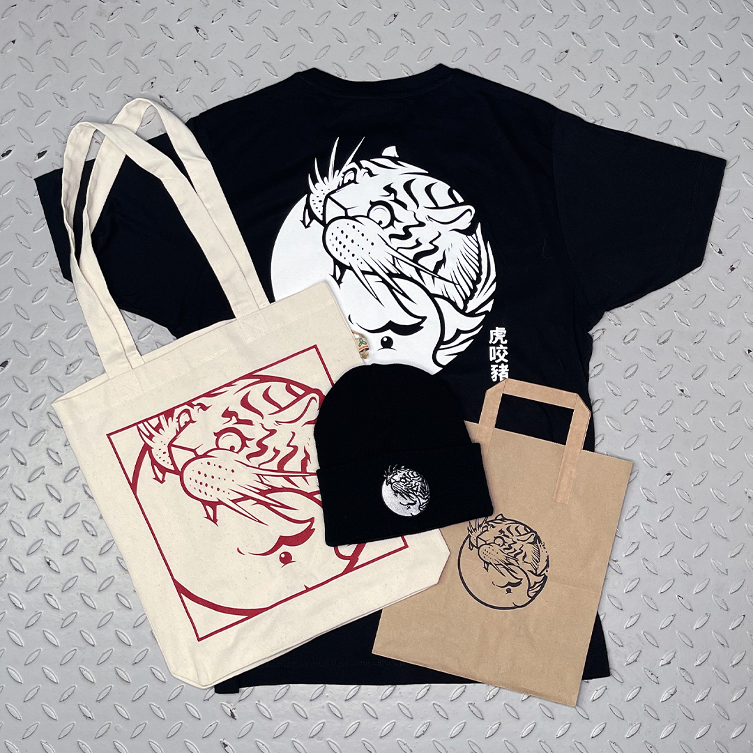 Merch Bundle with Black Logo Tshirt
