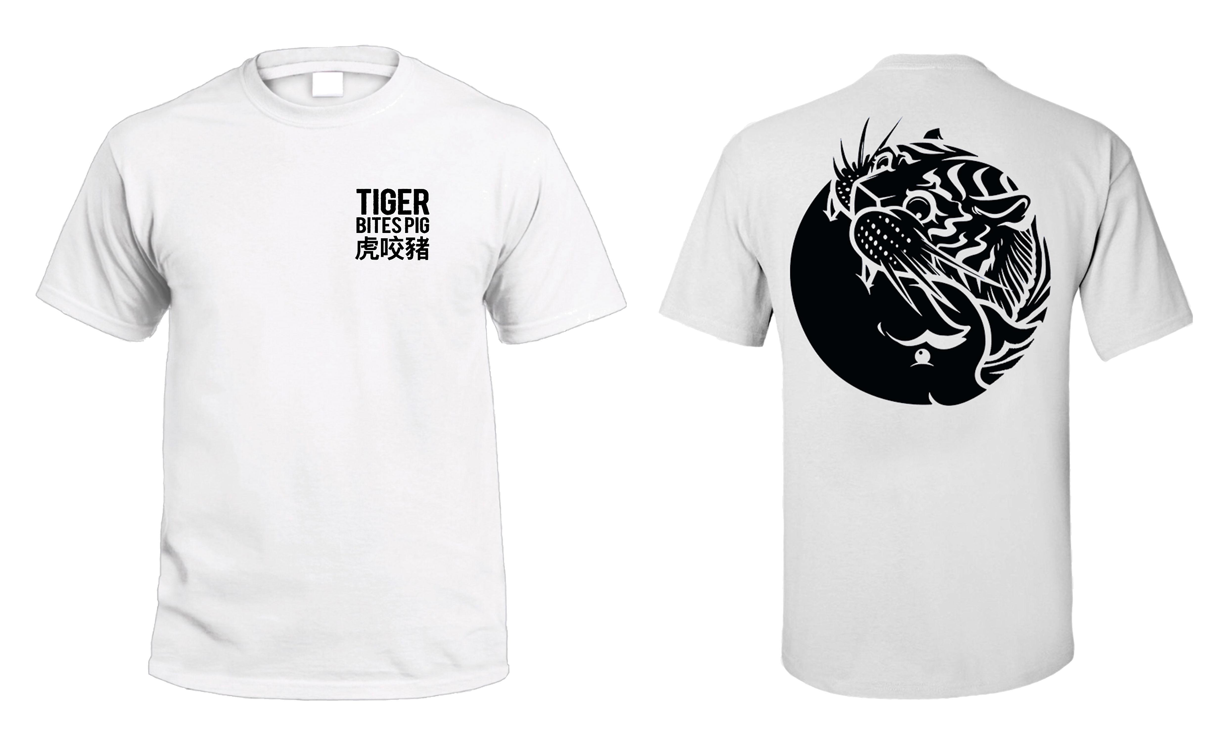 White Tiger Tee