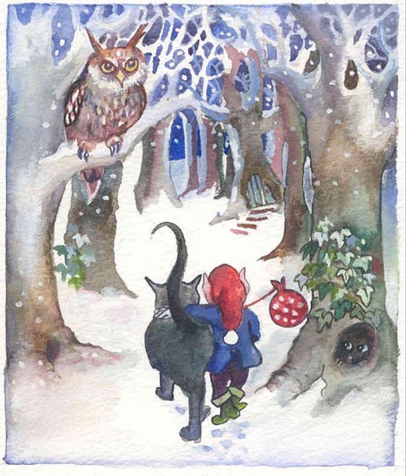 'Leaving Home' Furzedown Gallery Mini Card