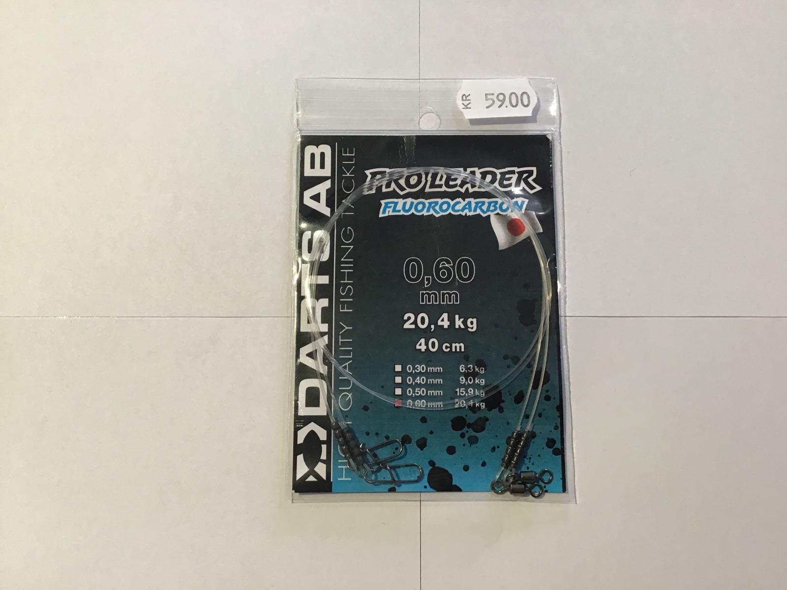 Darts proleader fluorocarbon 0,60mm