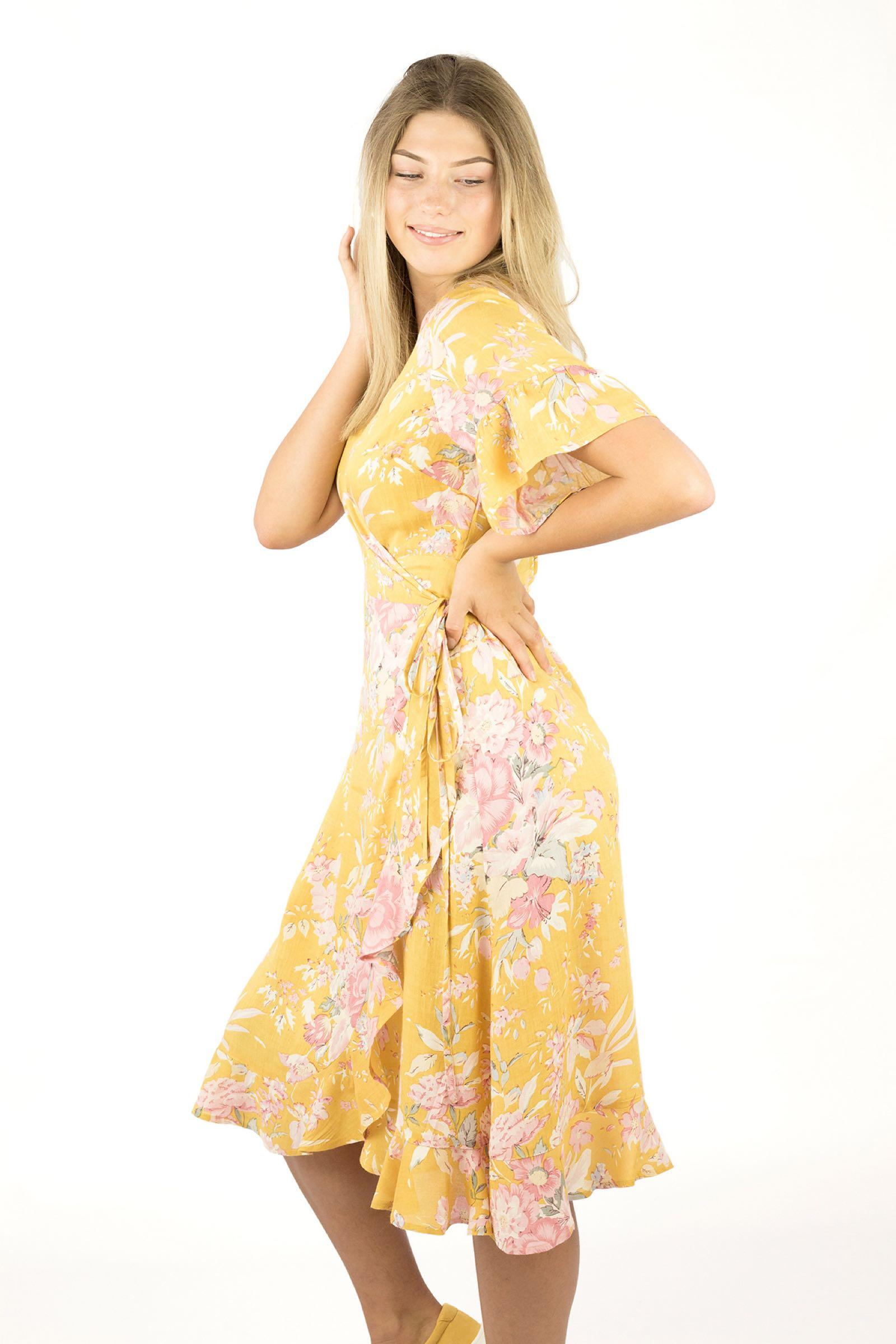 LIV dress sunnyellow