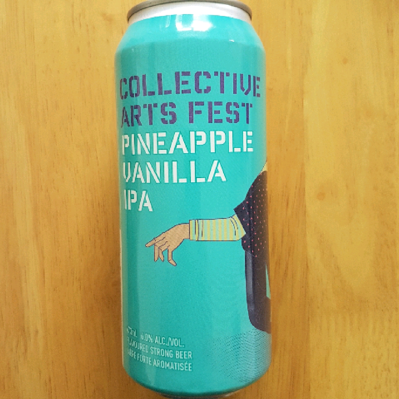 Collective Arts Fest Pineapple and Vanilla IPA