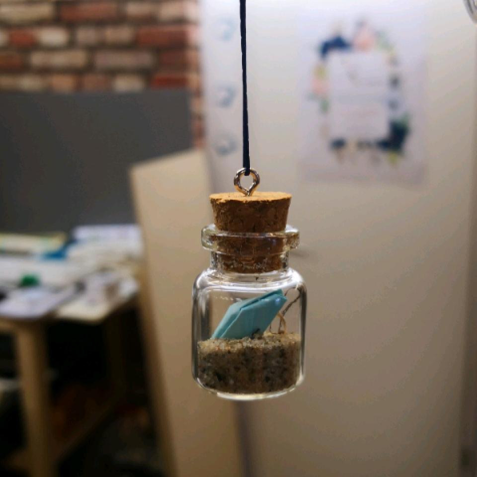 Fischereidesign - Flaschenpost groß