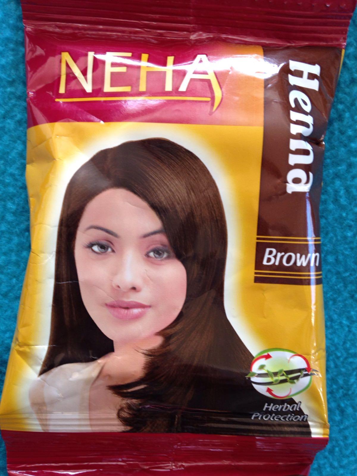 Indisk skjønnhet - Henna, brun, 20 gr