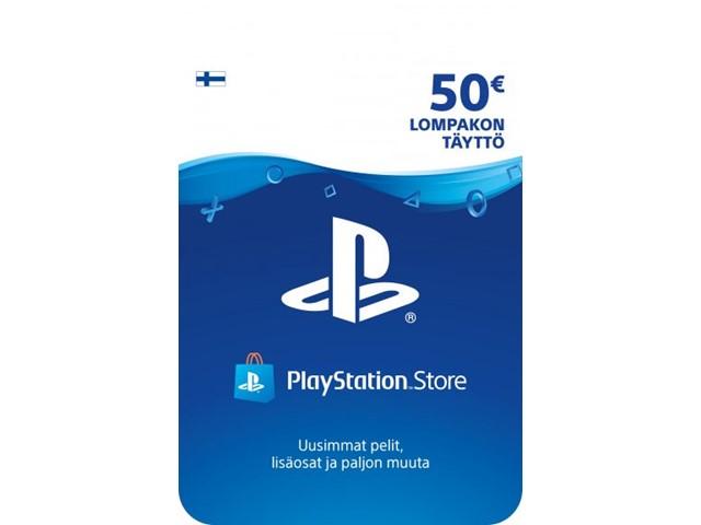 Sony PlayStation Network 50 EUR PSN-latauskortti