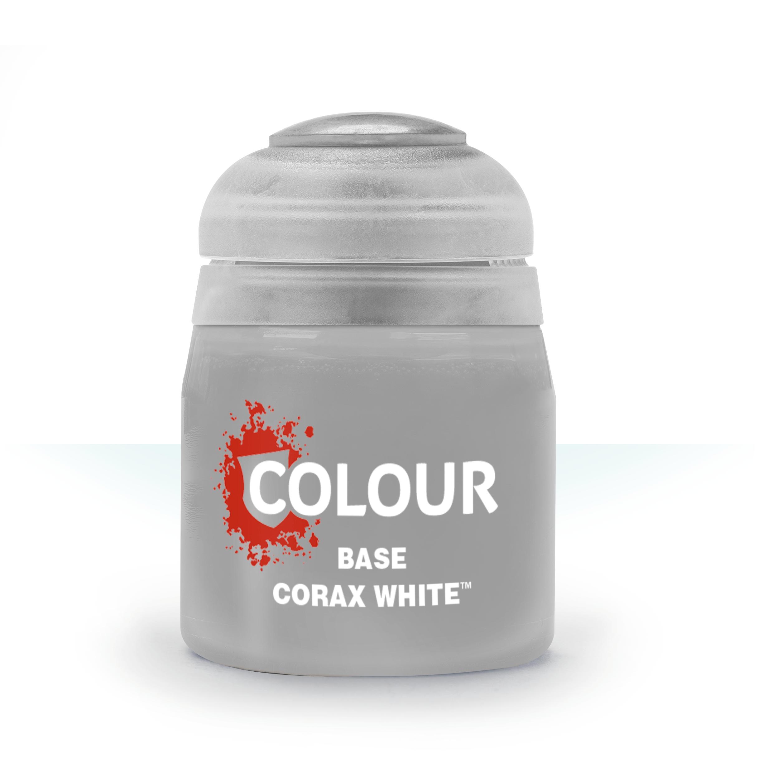 Citadel Colour Corax White 12ml -pienoismallimaali
