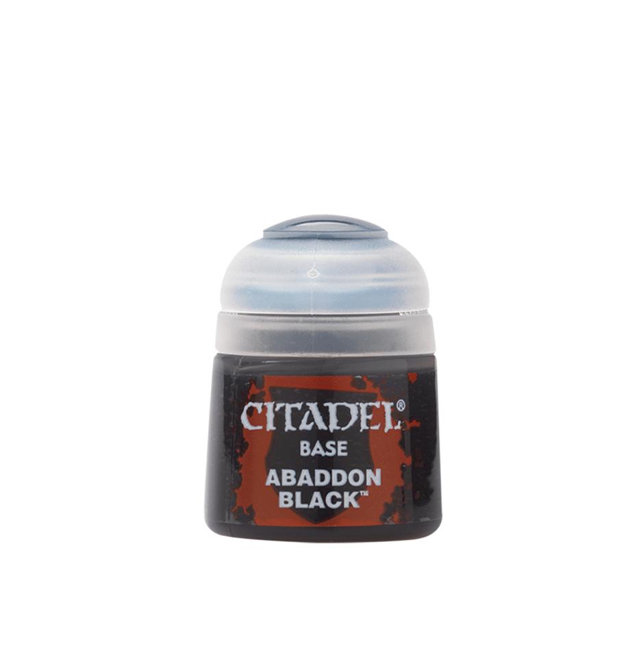Citadel Colour Abaddon Black 12ml -pienoismallimaali